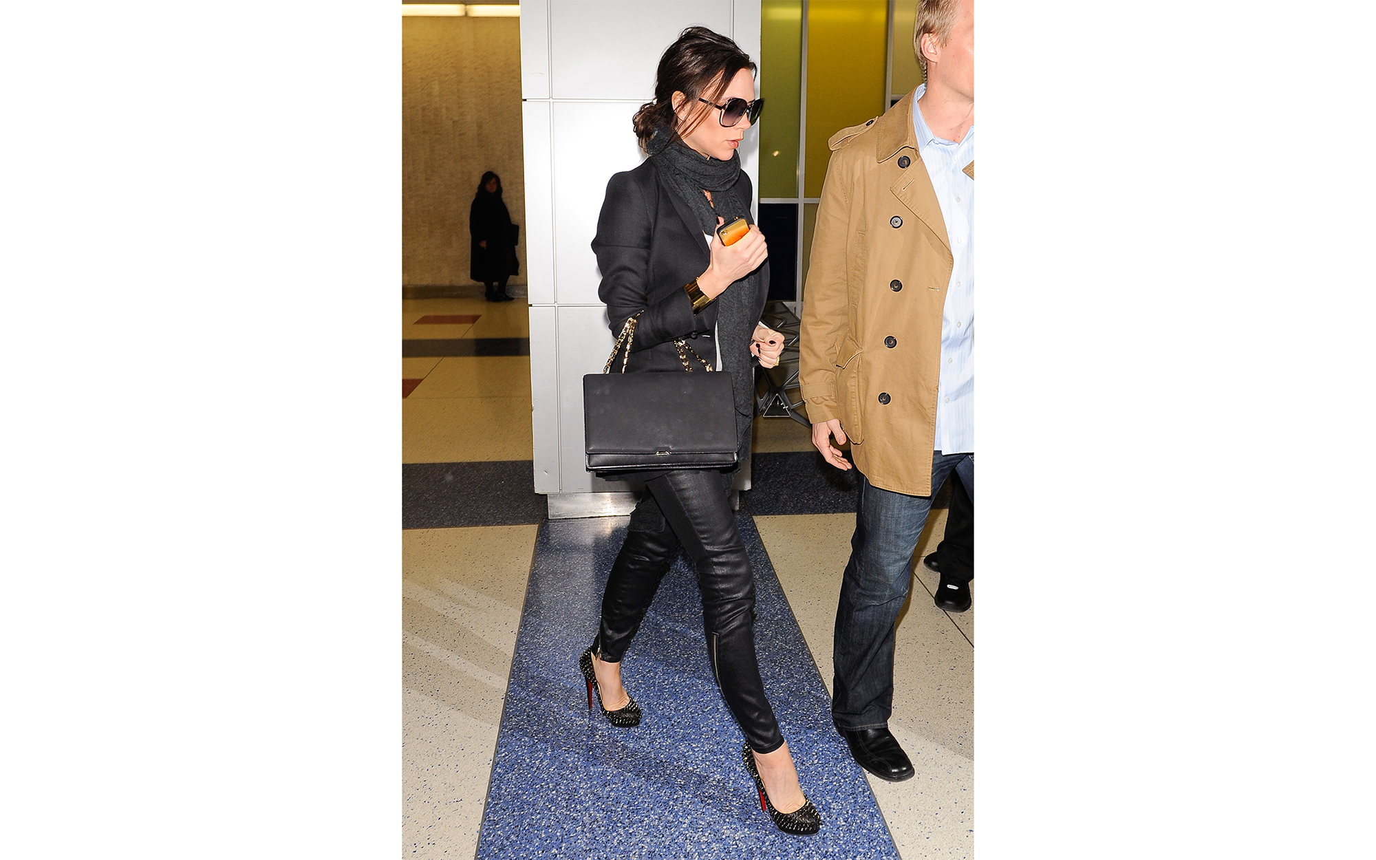 Victoria Beckham Named Best Dressed Traveler - See Her Best Airport Looks