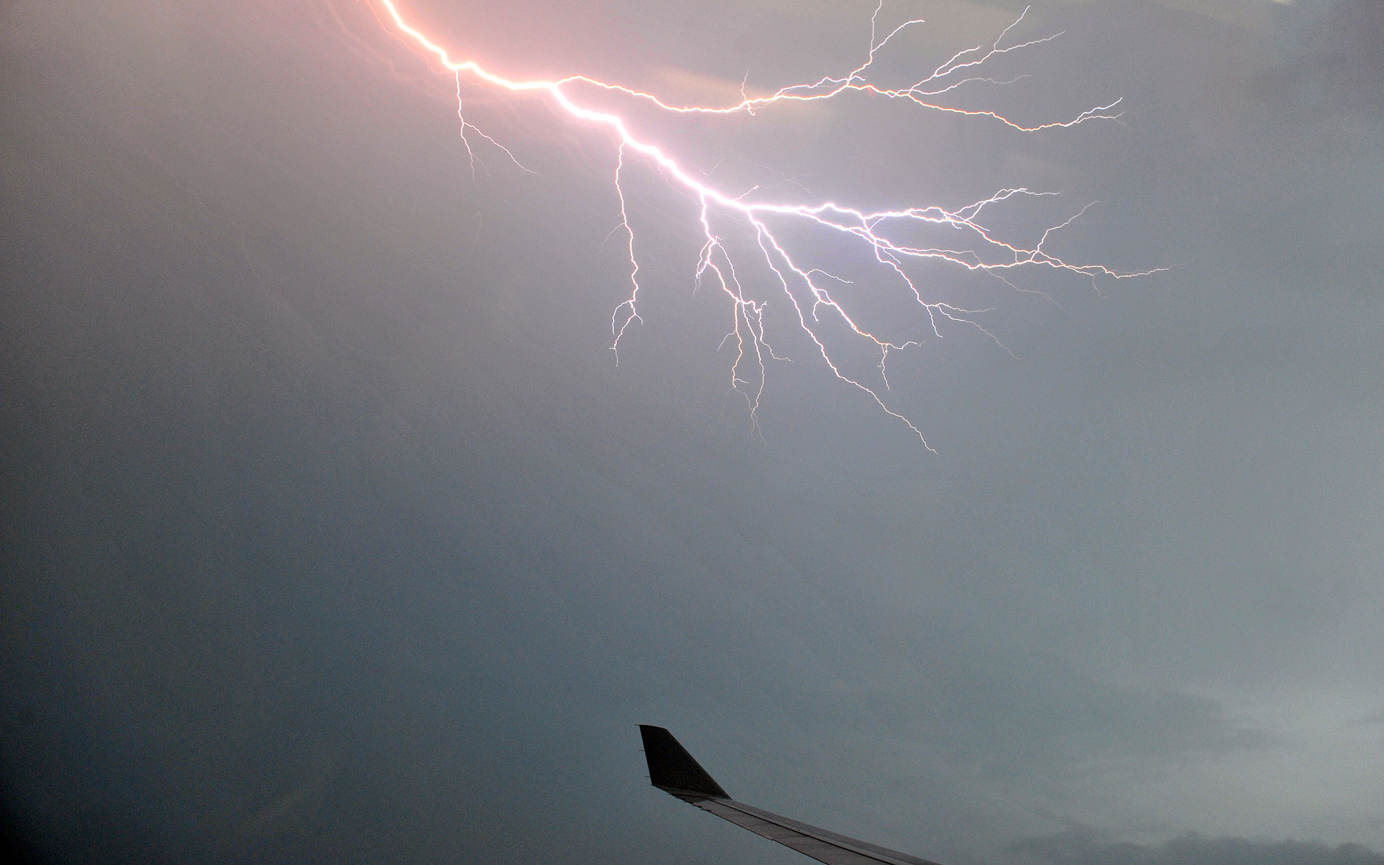 Video: Airplanes Being Hit By Lightning