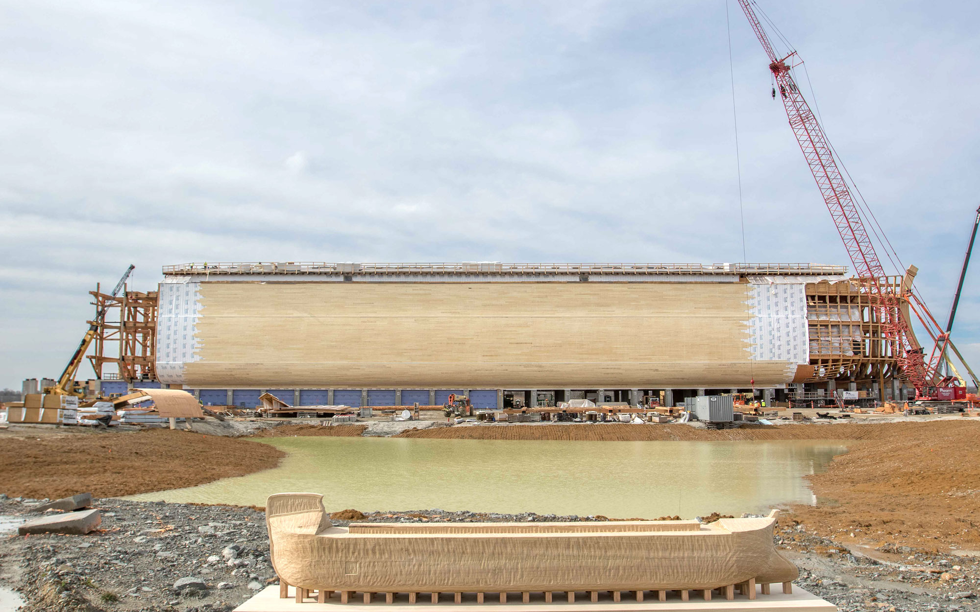 Massive Re-Creation of Noah's Ark Preps For Summer Opening