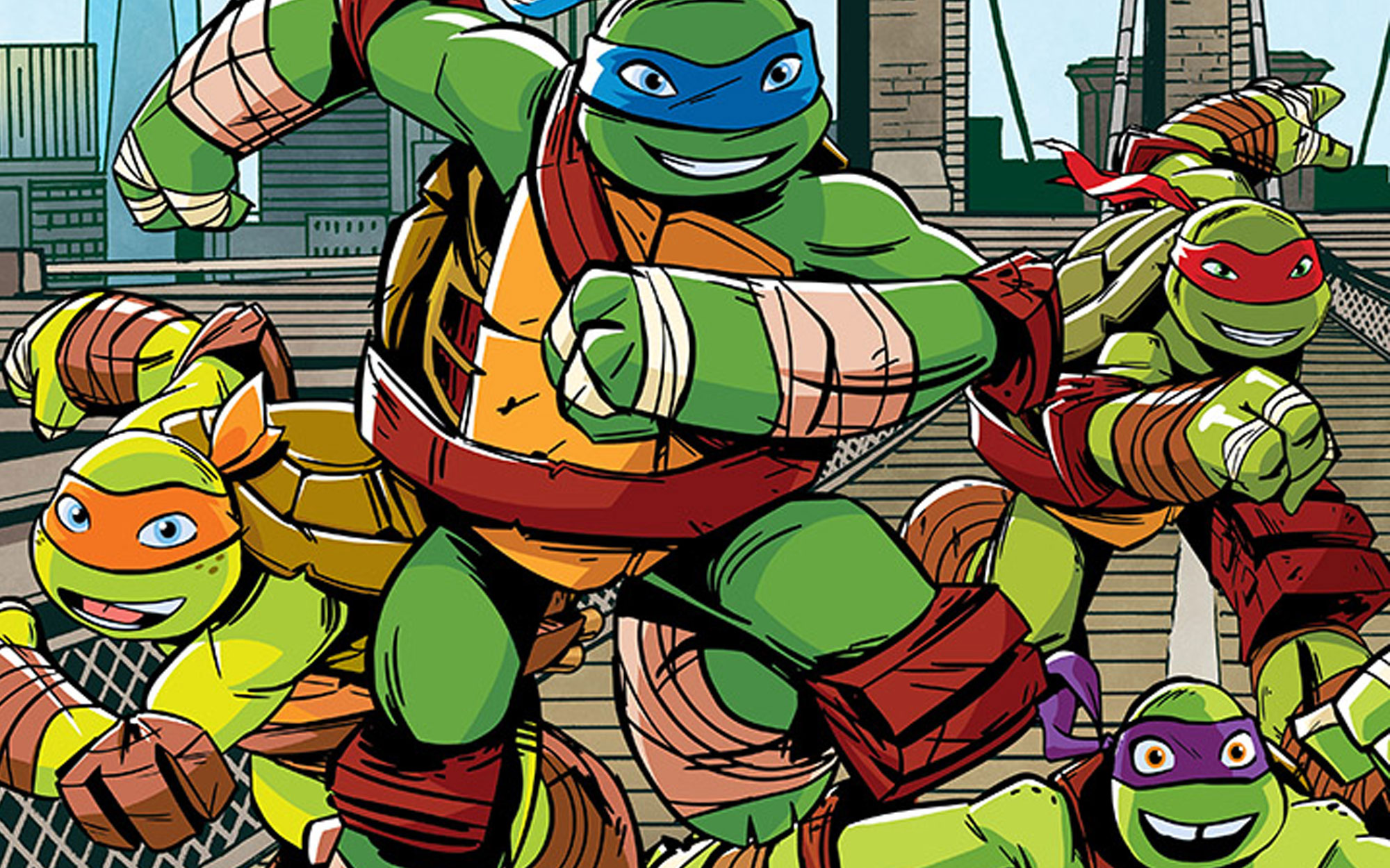 Teenage Mutant Ninja Turtles Named New York City's Ambassadors
