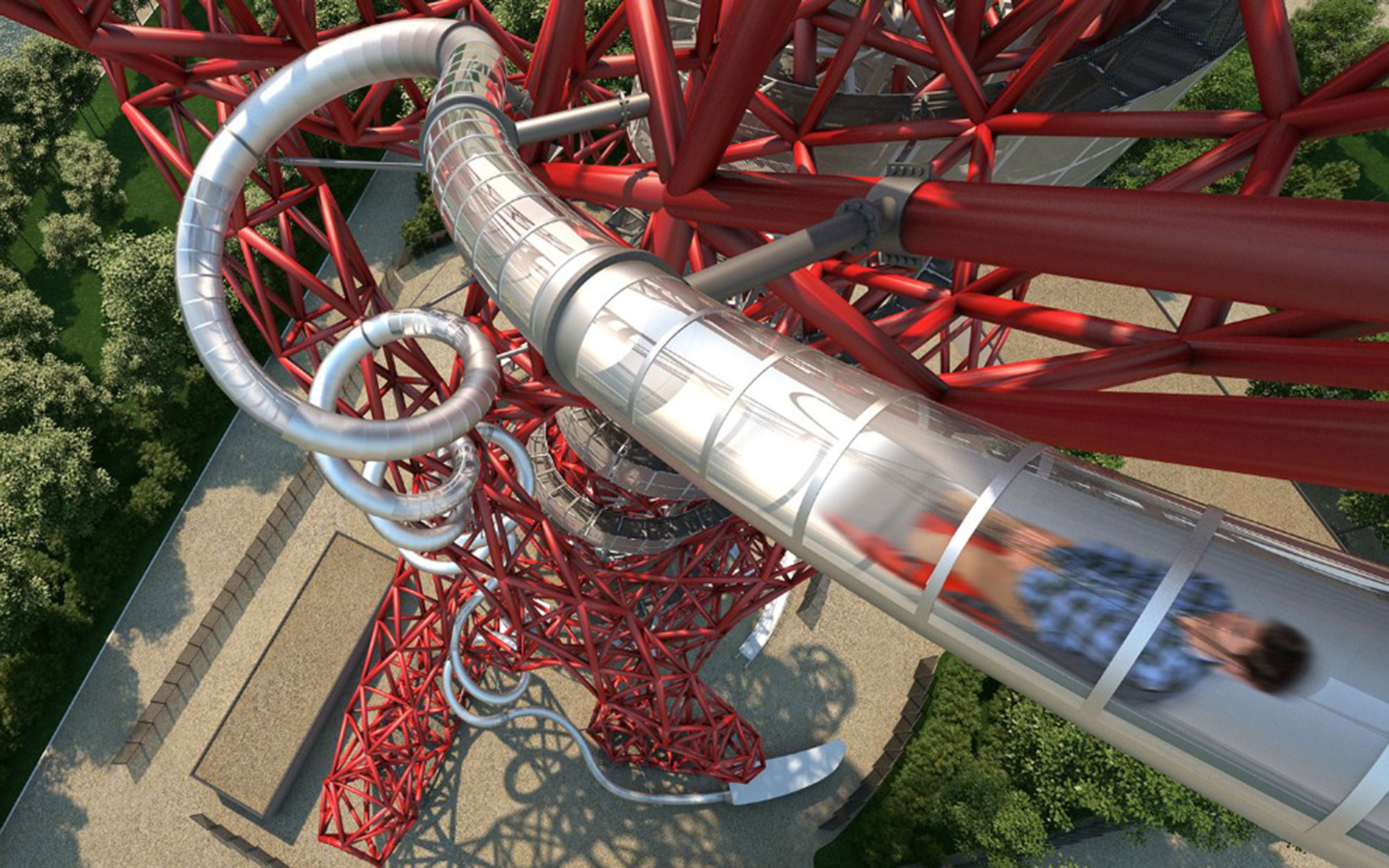 The World's Tallest and Longest Slide is Coming to London