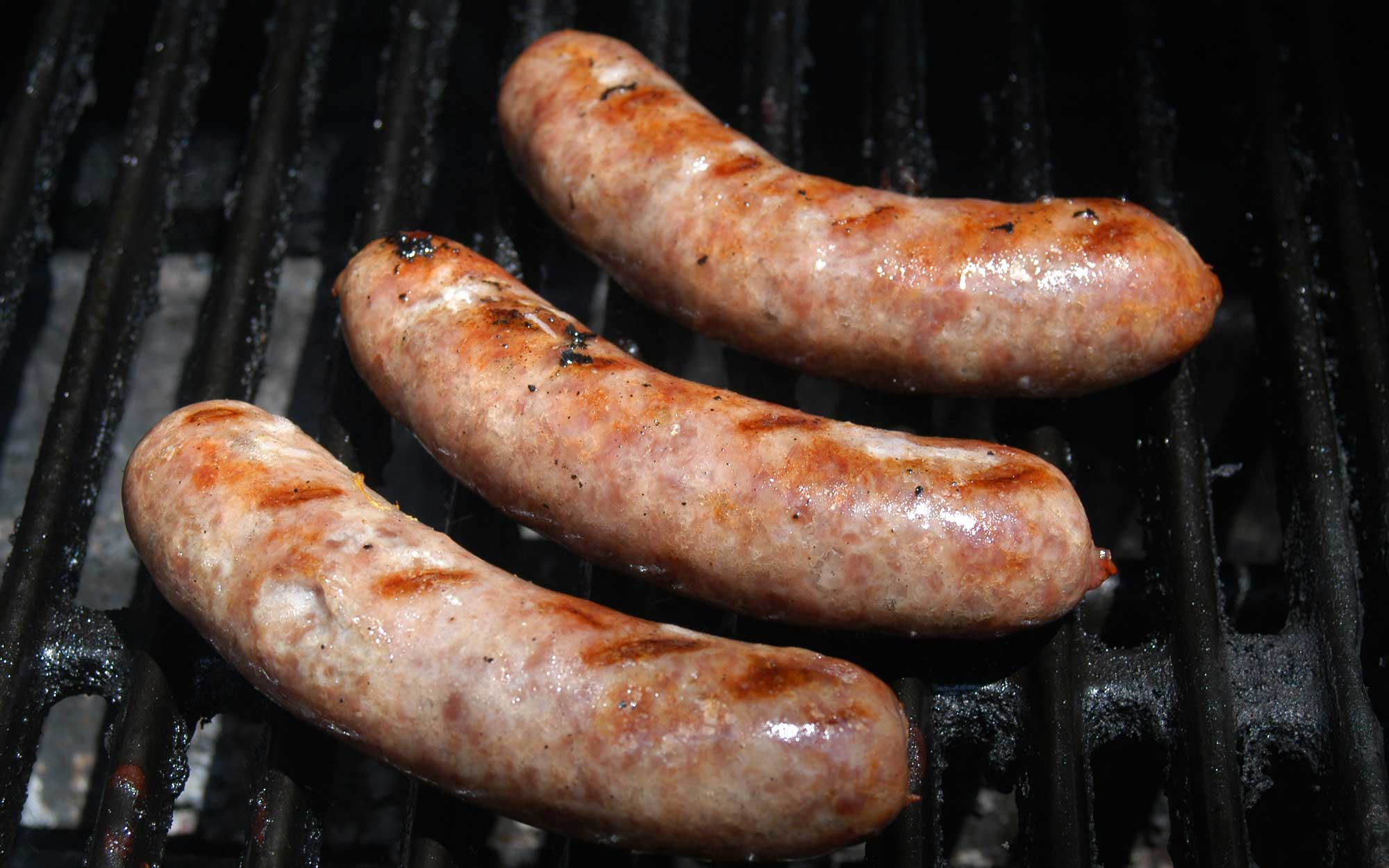 Grilling: Brats on the grill