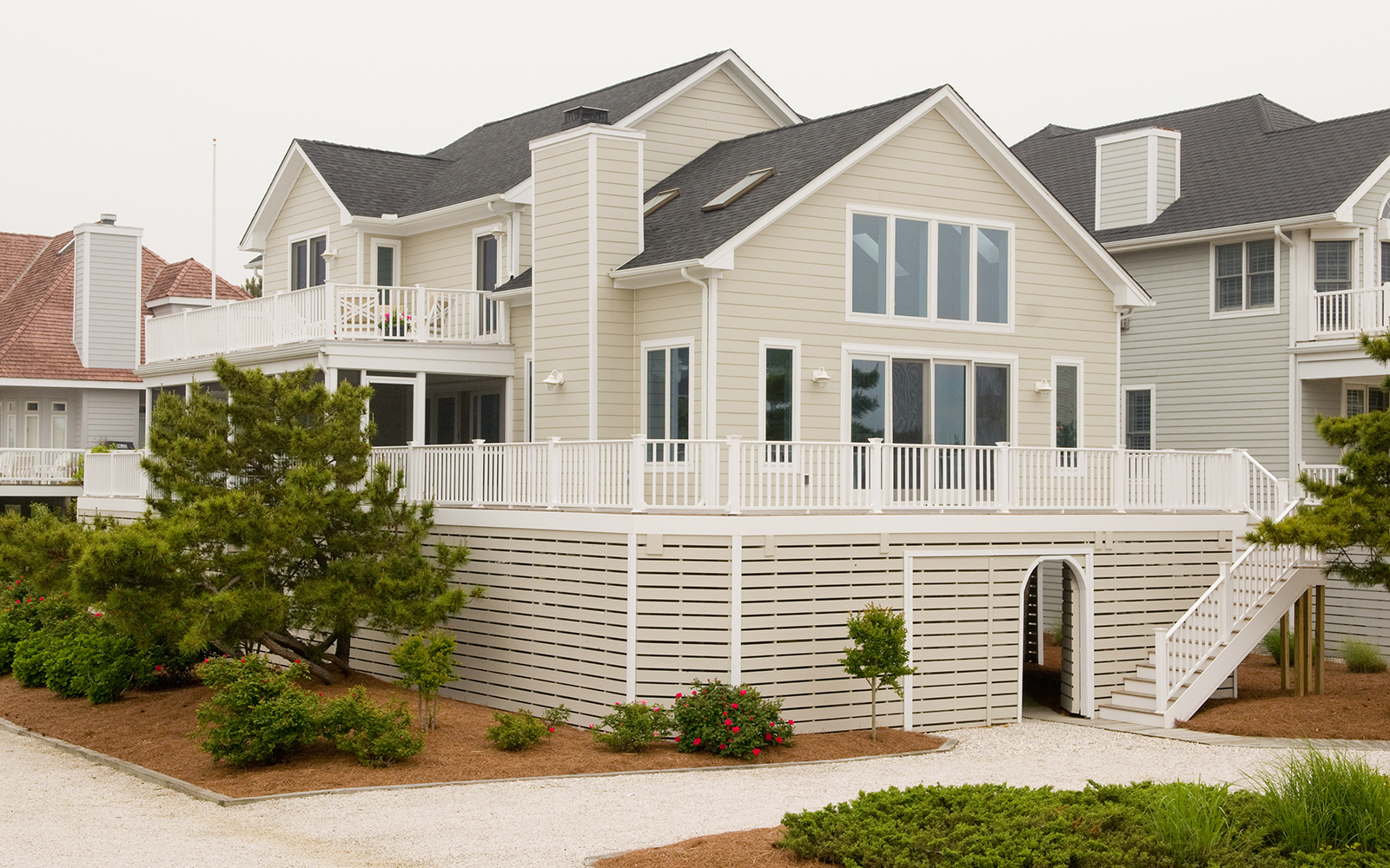 Exterior Of The Burns Beach House In Bethany By Designer Erica