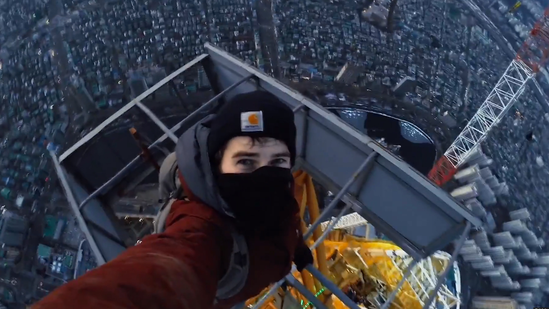 Video of Tourists Climbing Tallest Building in South Korea  Travel + Leisure
