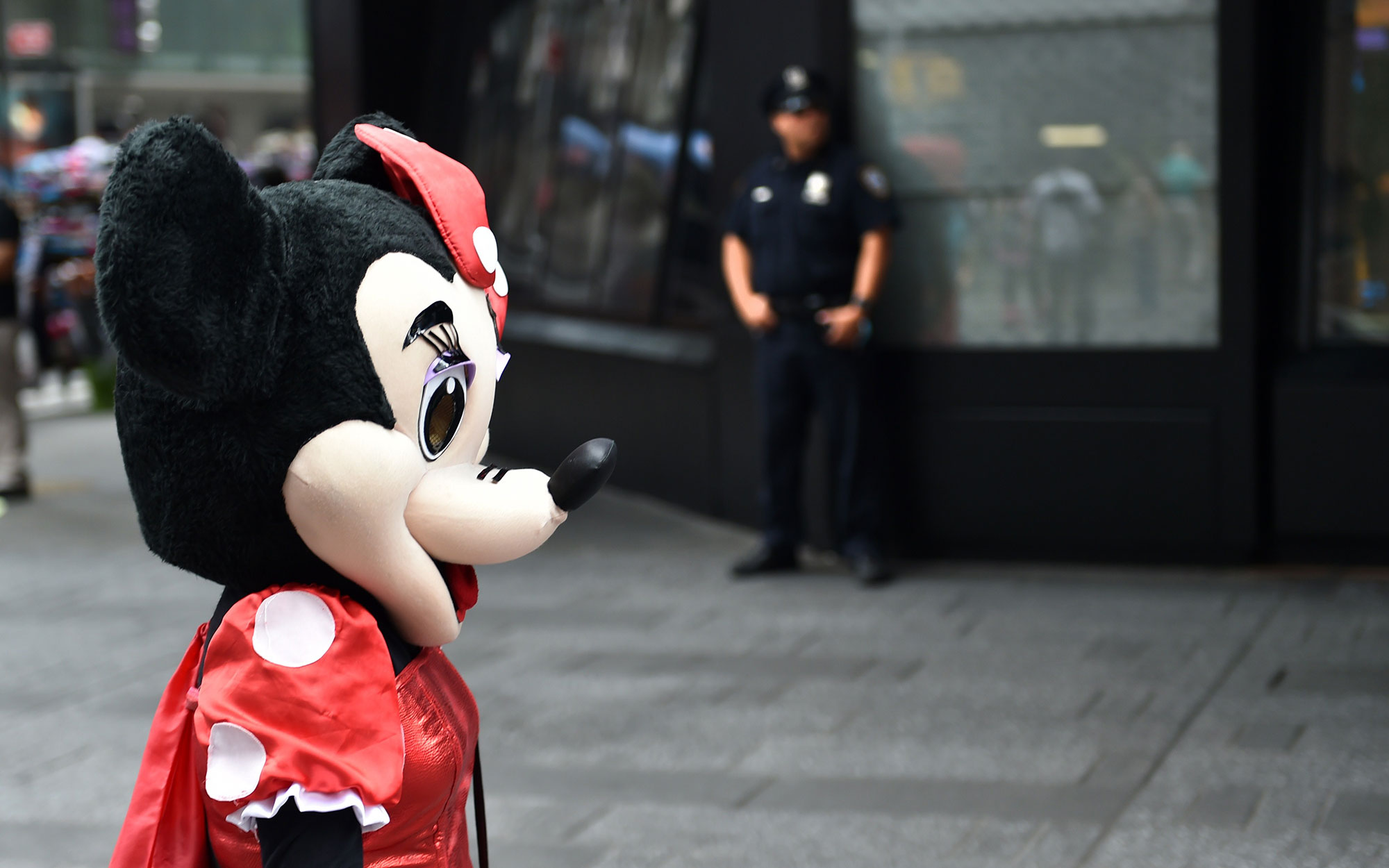 Minnie Mouse Arrested in Times Square For Harassing Tourists