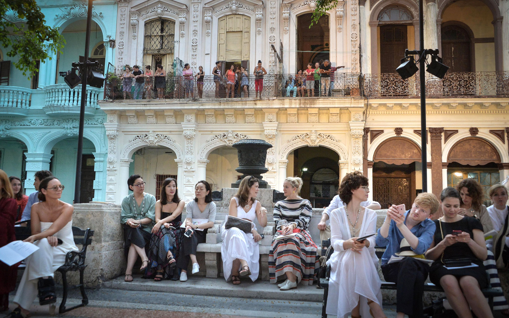 Chanel Hosts First Fashion Show in Cuba