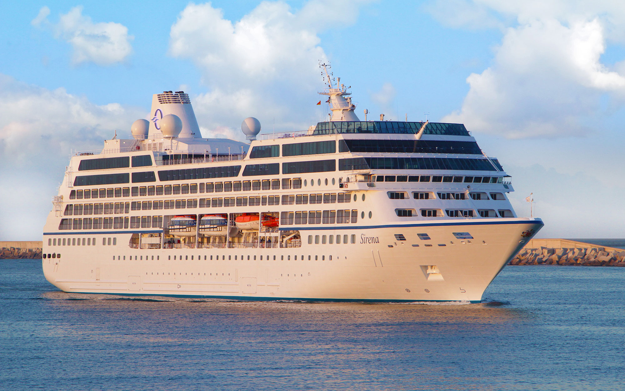 "Oceania Cruises Latest Ship, ""Sirena"""