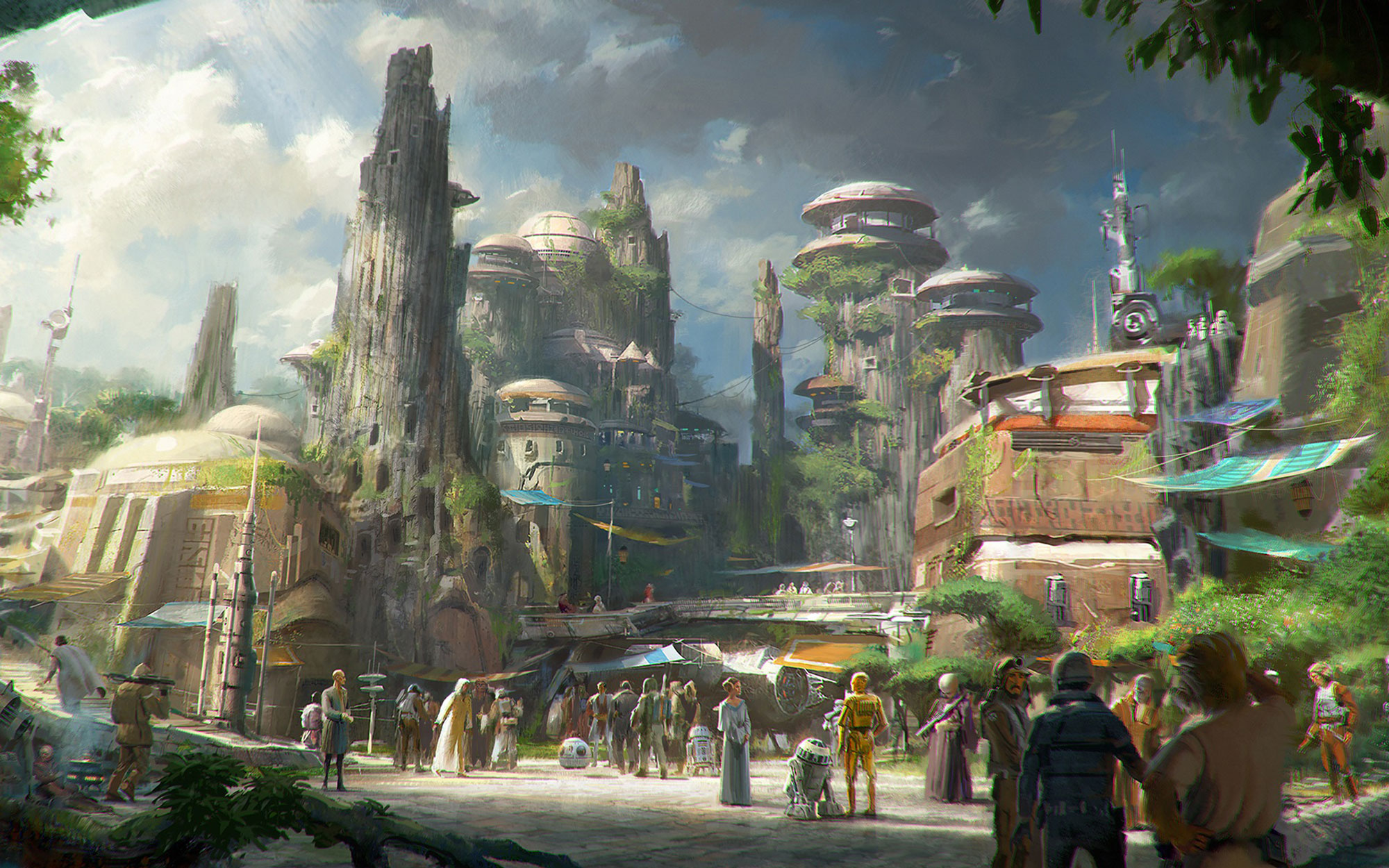 The Definitive Star Wars Land Timeline