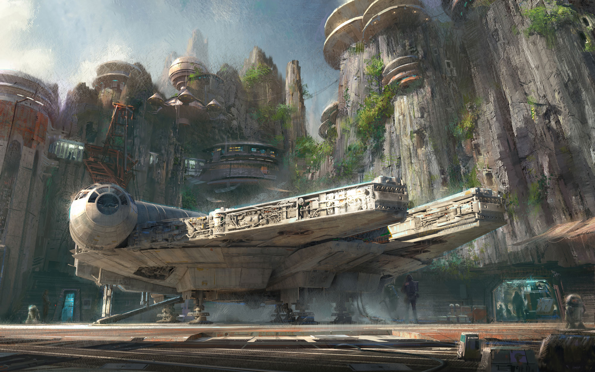 Star Wars - Themed Lands Coming to Disney Parks
