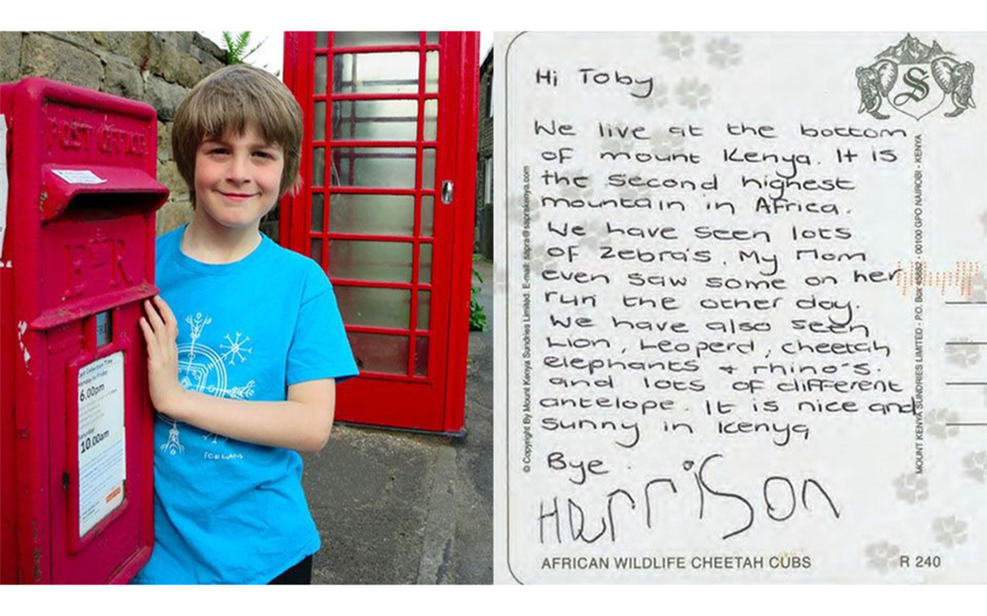 Eight-Year-Old To Write a Letter to Every Country in the World