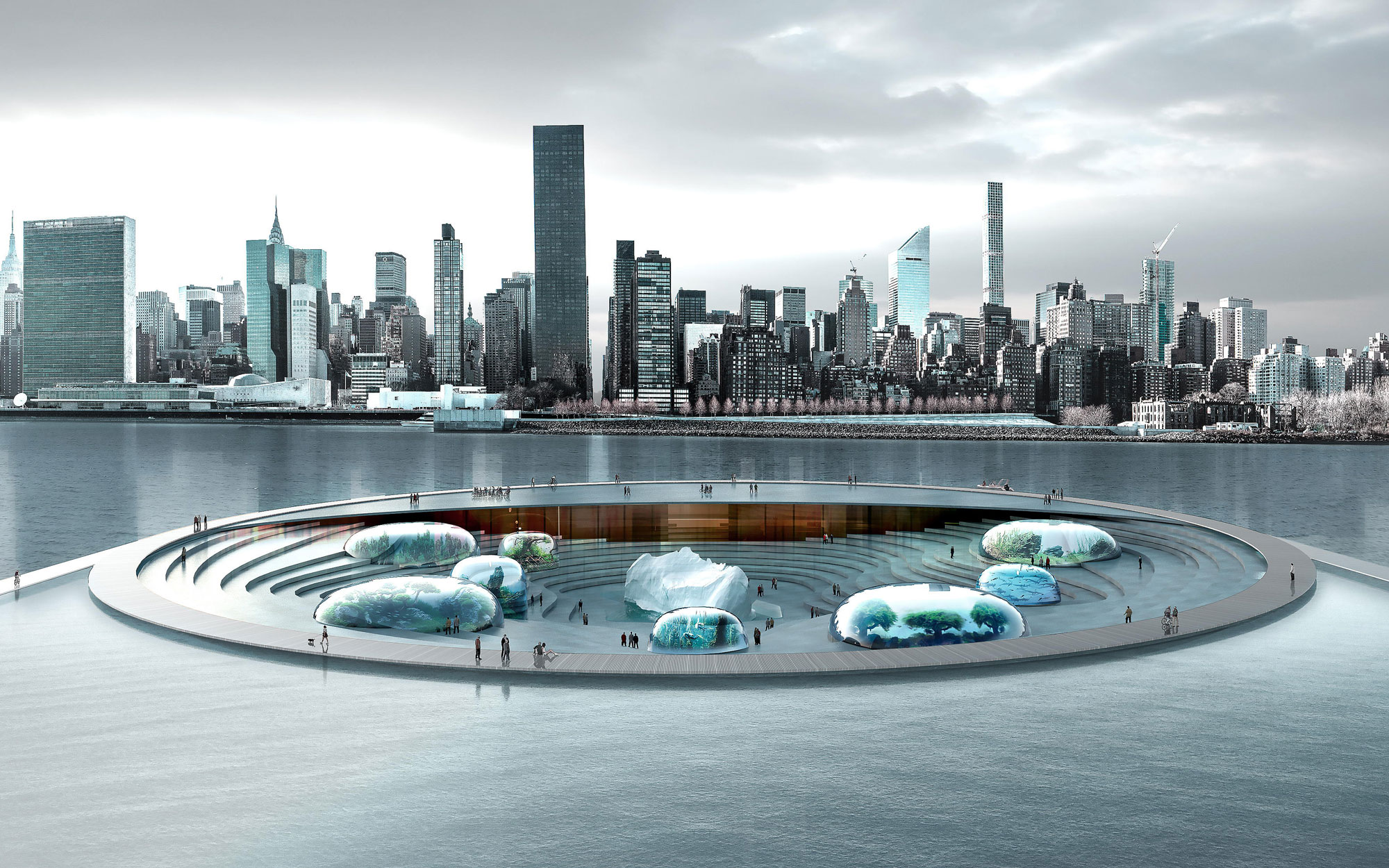 Could an Underwater Aquarium Be Coming to New York City?