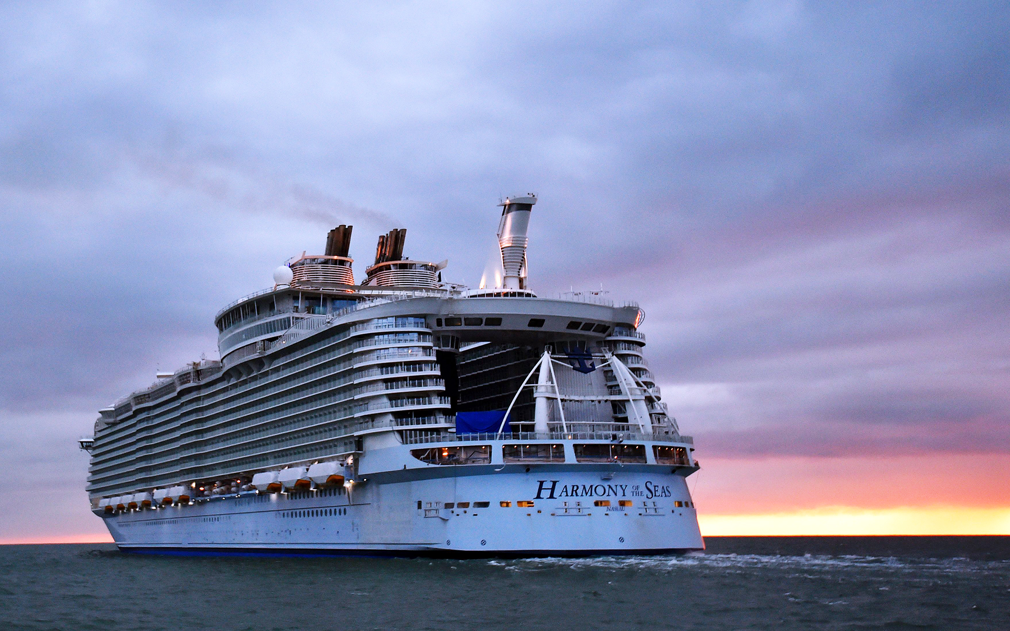Harmony of the Seas, largest cruise ship