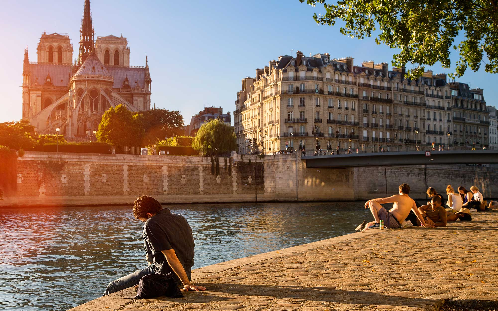 Paris' Seine River Could Be Open for Swimming As Soon As Next Year