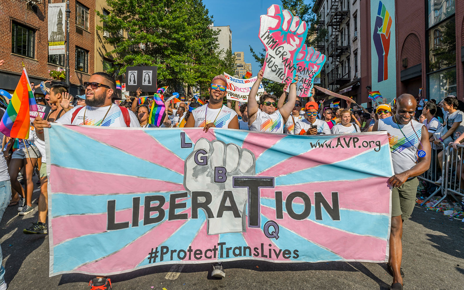 Colorful Photos from New York City's Pride Parade