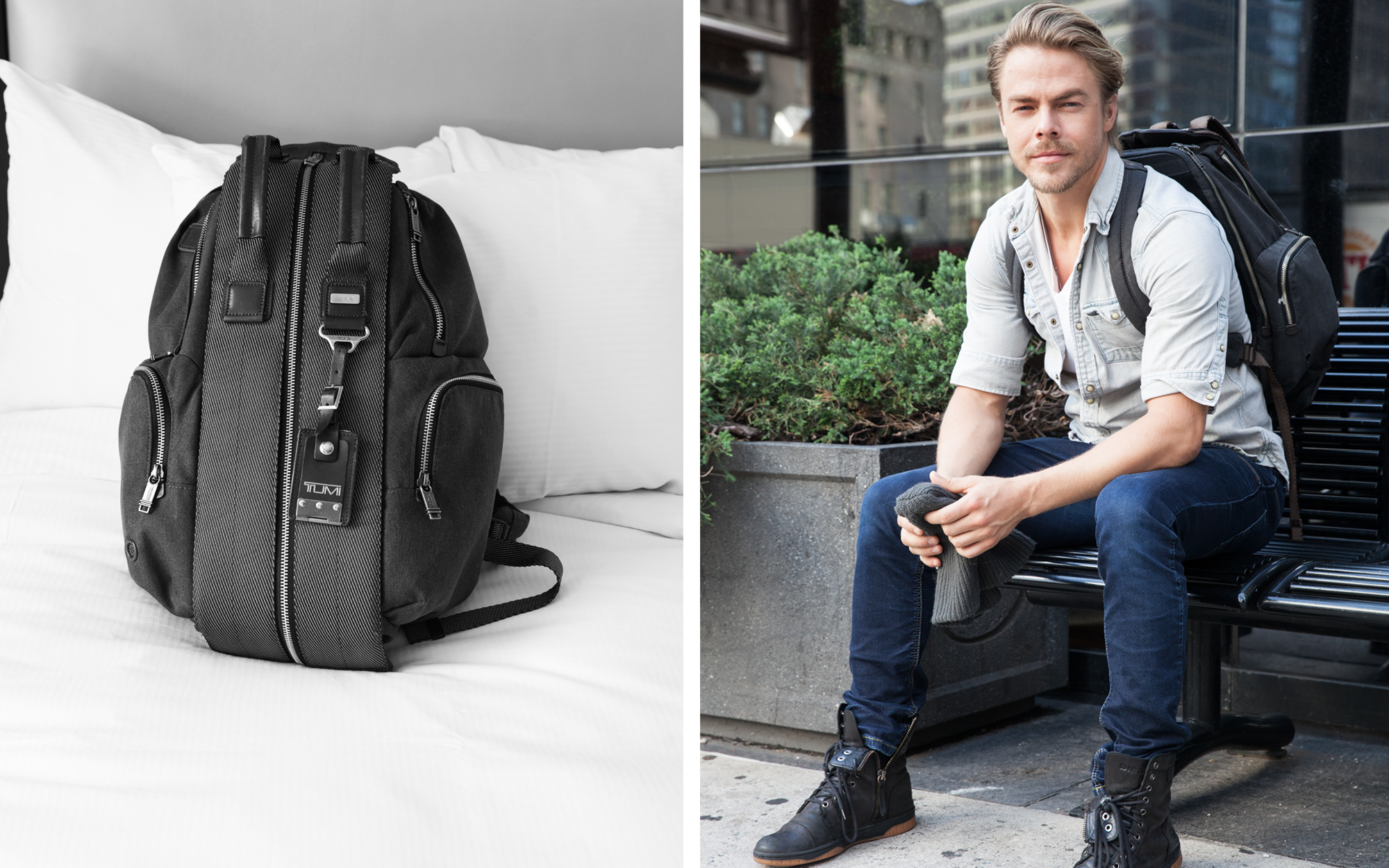 Derek Hough's Travel Essentials