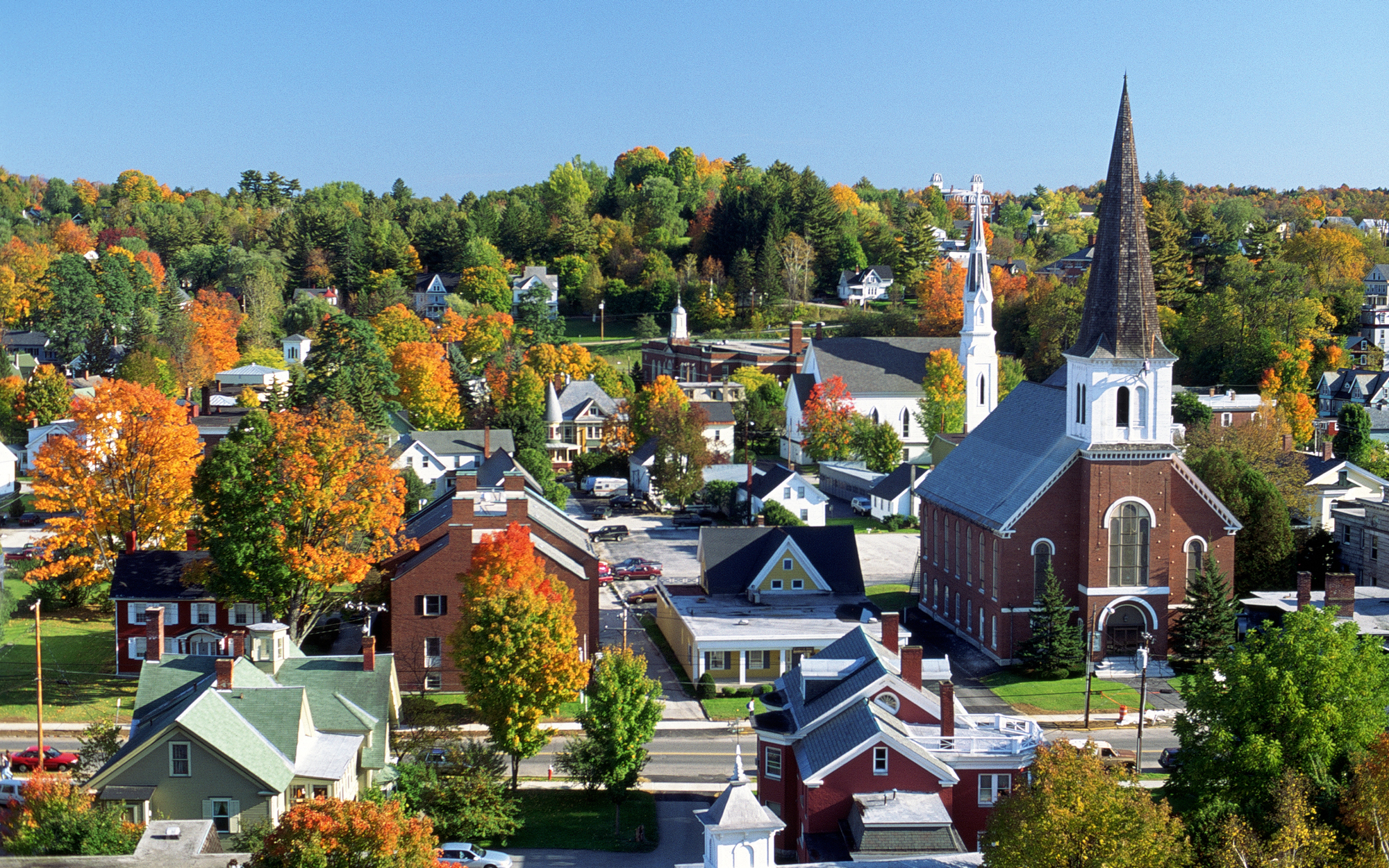 12 Best Vermont Fall Foliage Locations Travel Leisure
