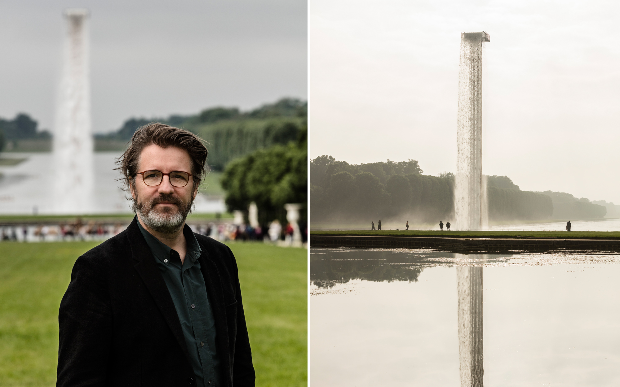 Floating Waterfall by Olafur Eliasson