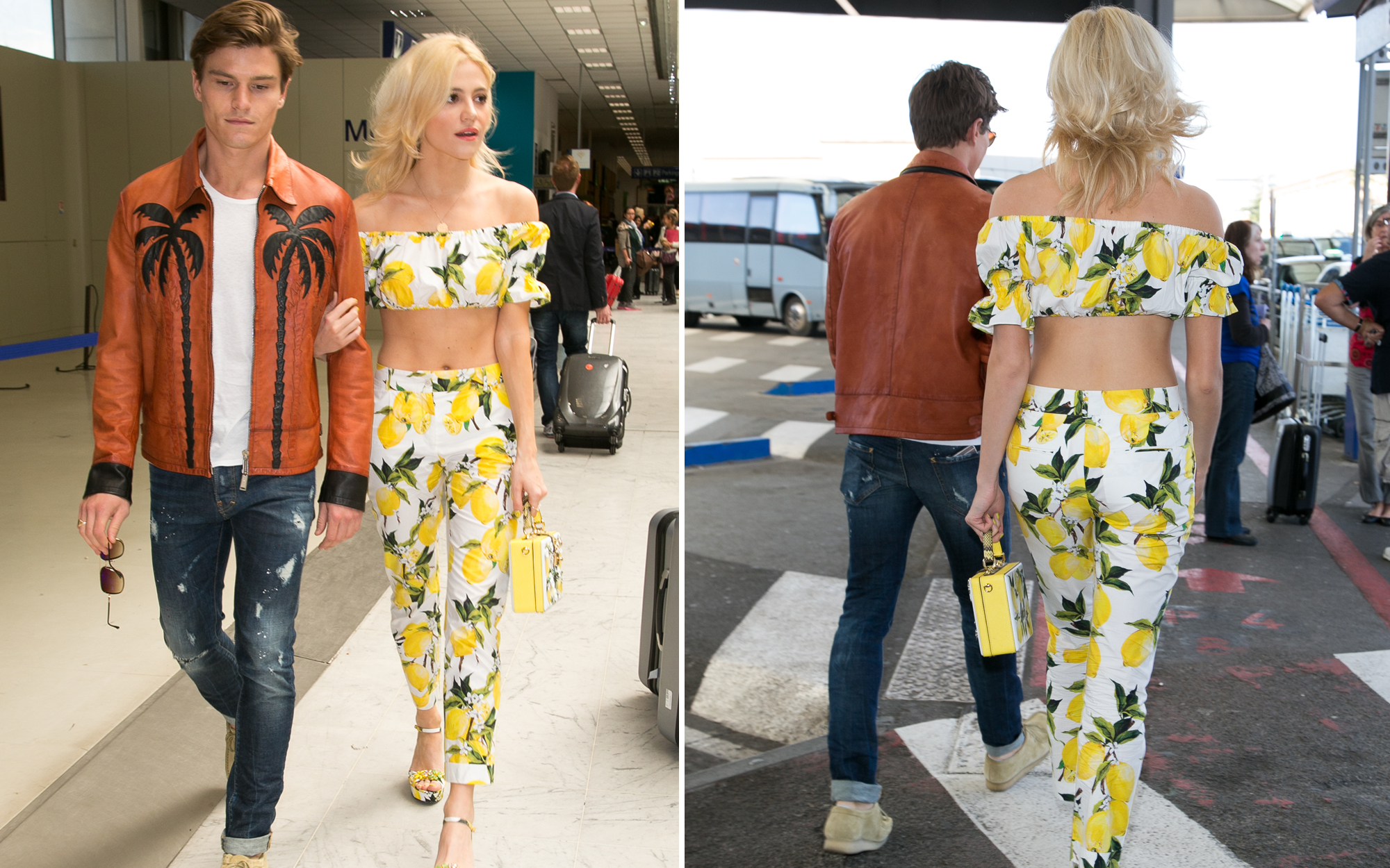 Top Airport Looks: Celebrities Arrive in Style to Cannes
