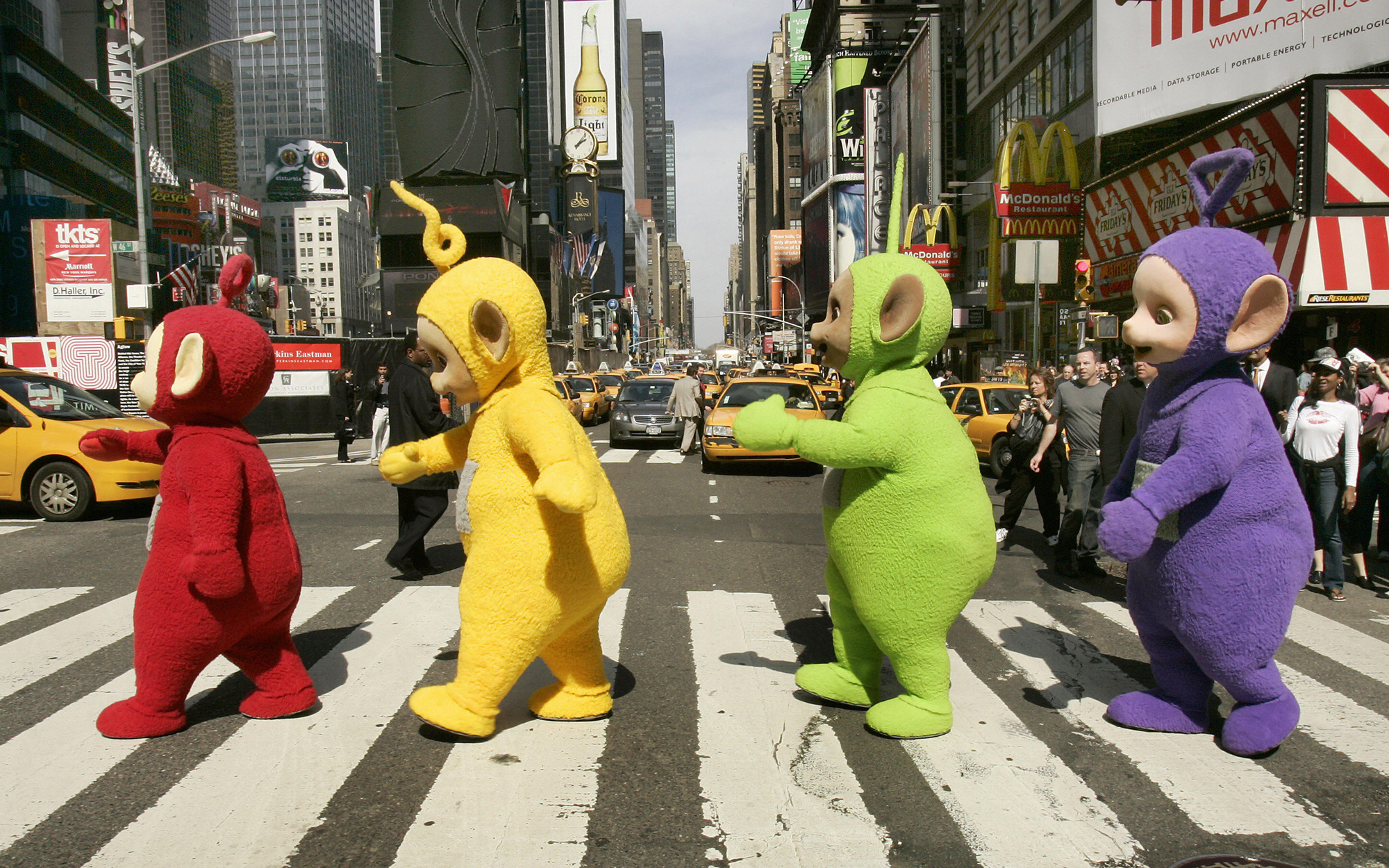 Times Square is Creating Color-Coded Zones to Organize Street Performers