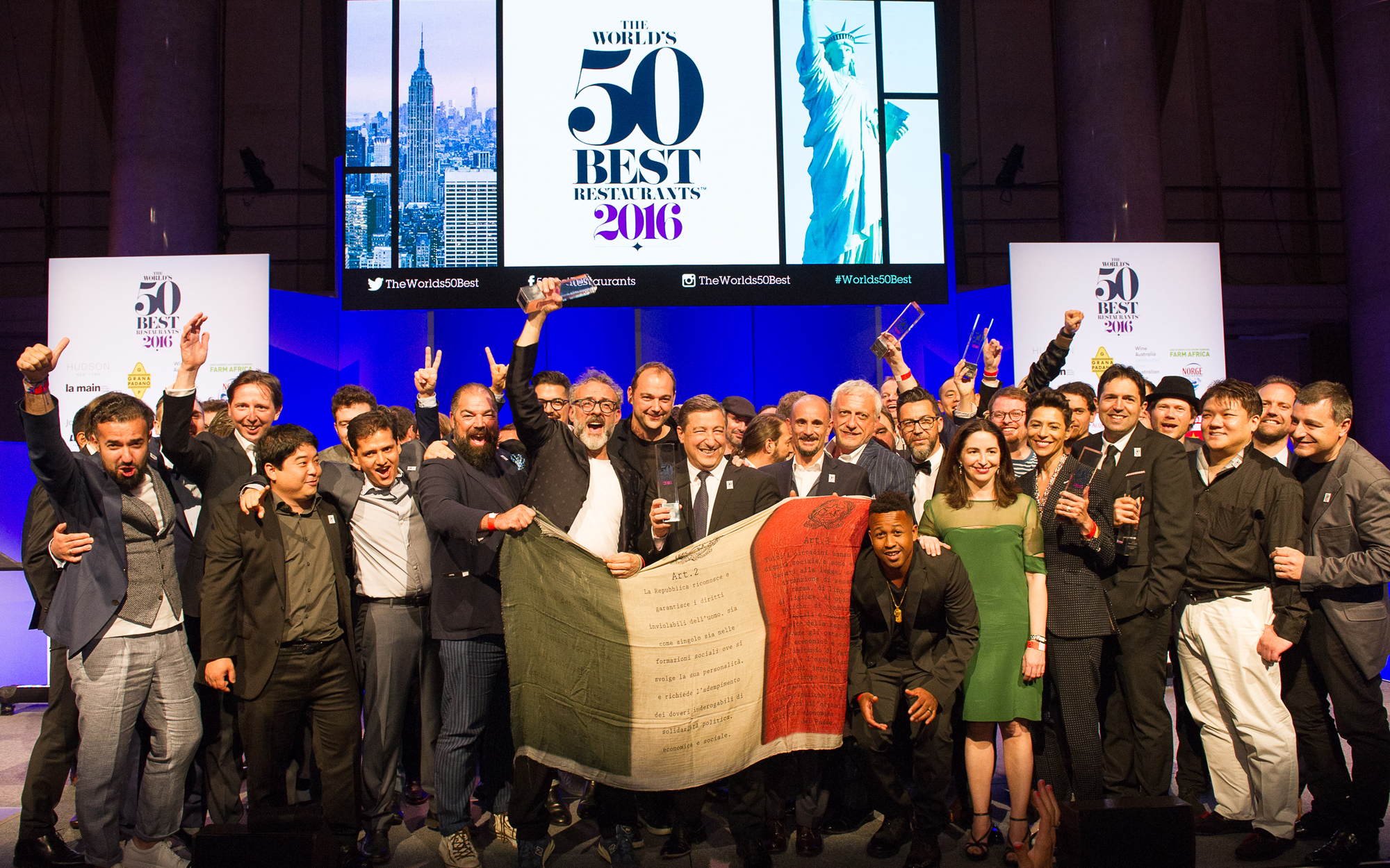 Here Are The World's 50 Best Restaurants For 2016