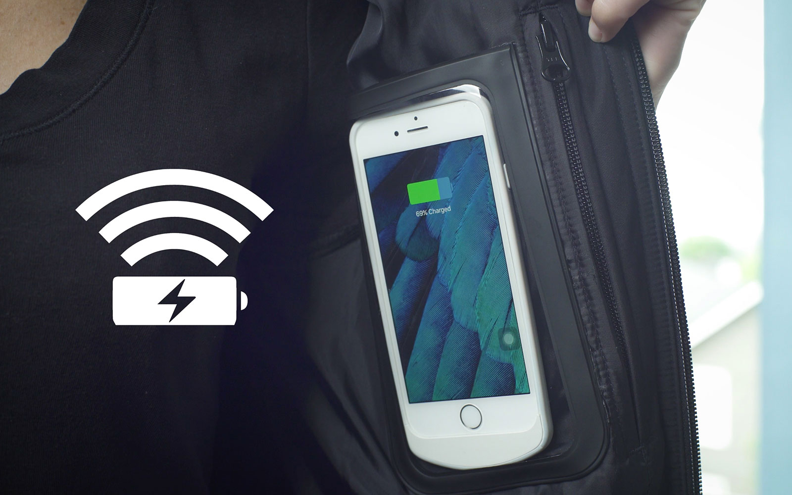 This Jacket Will Charge All Your Devices While You're Wearing It