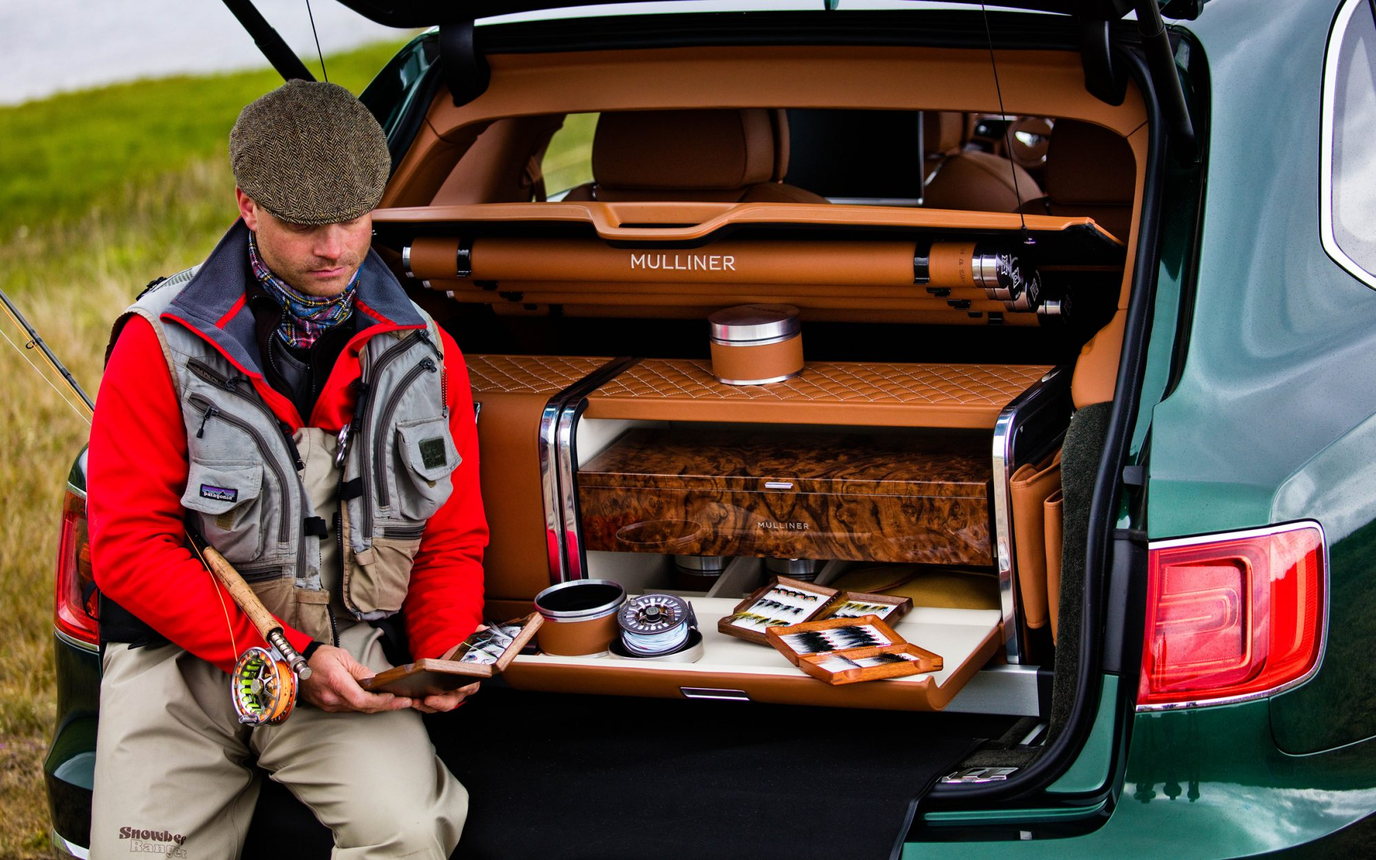 Bentley's First SUV Has an Optional $100,000 Fly-Fishing Kit