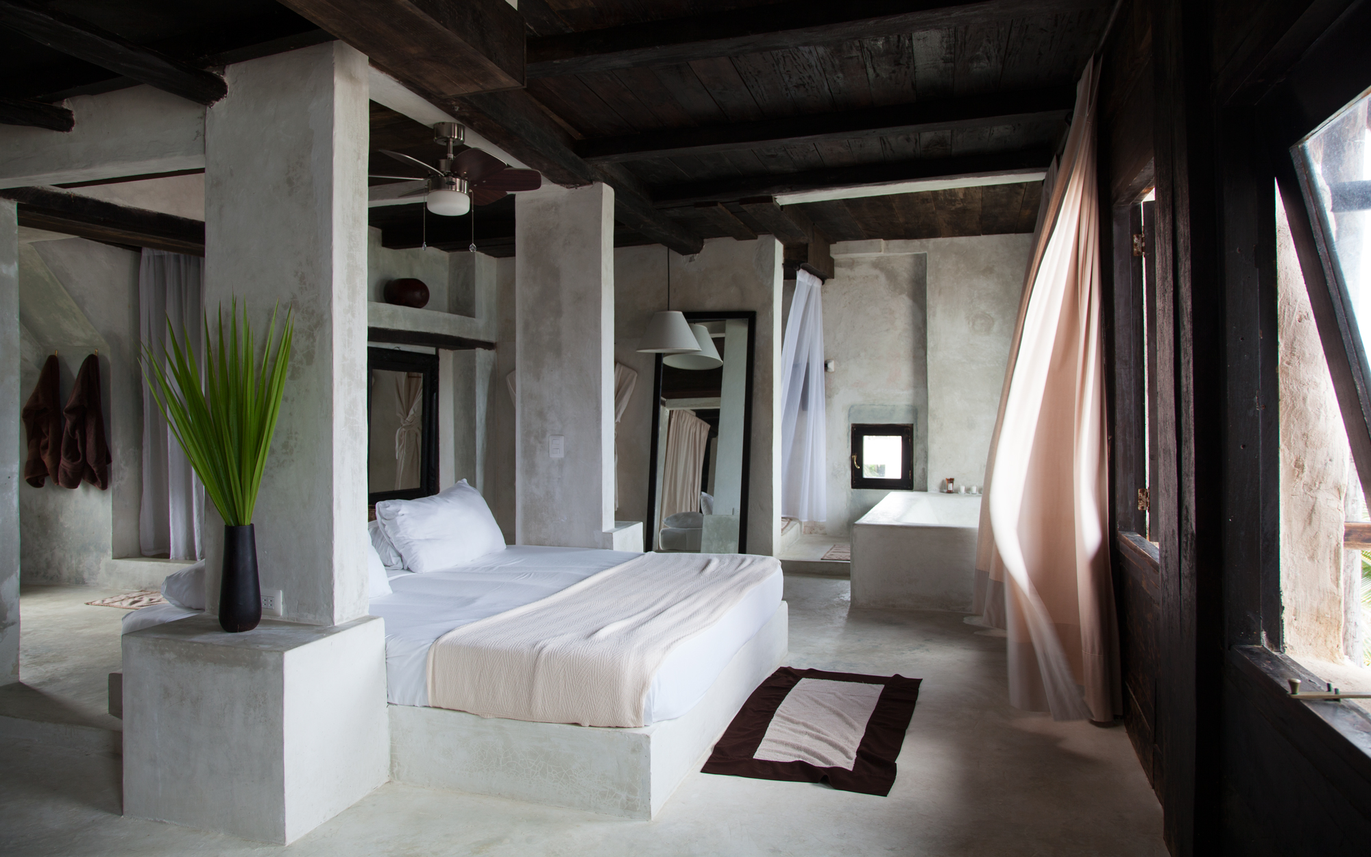 Guest Room at Coqui Coqui in Tulum, Mexico