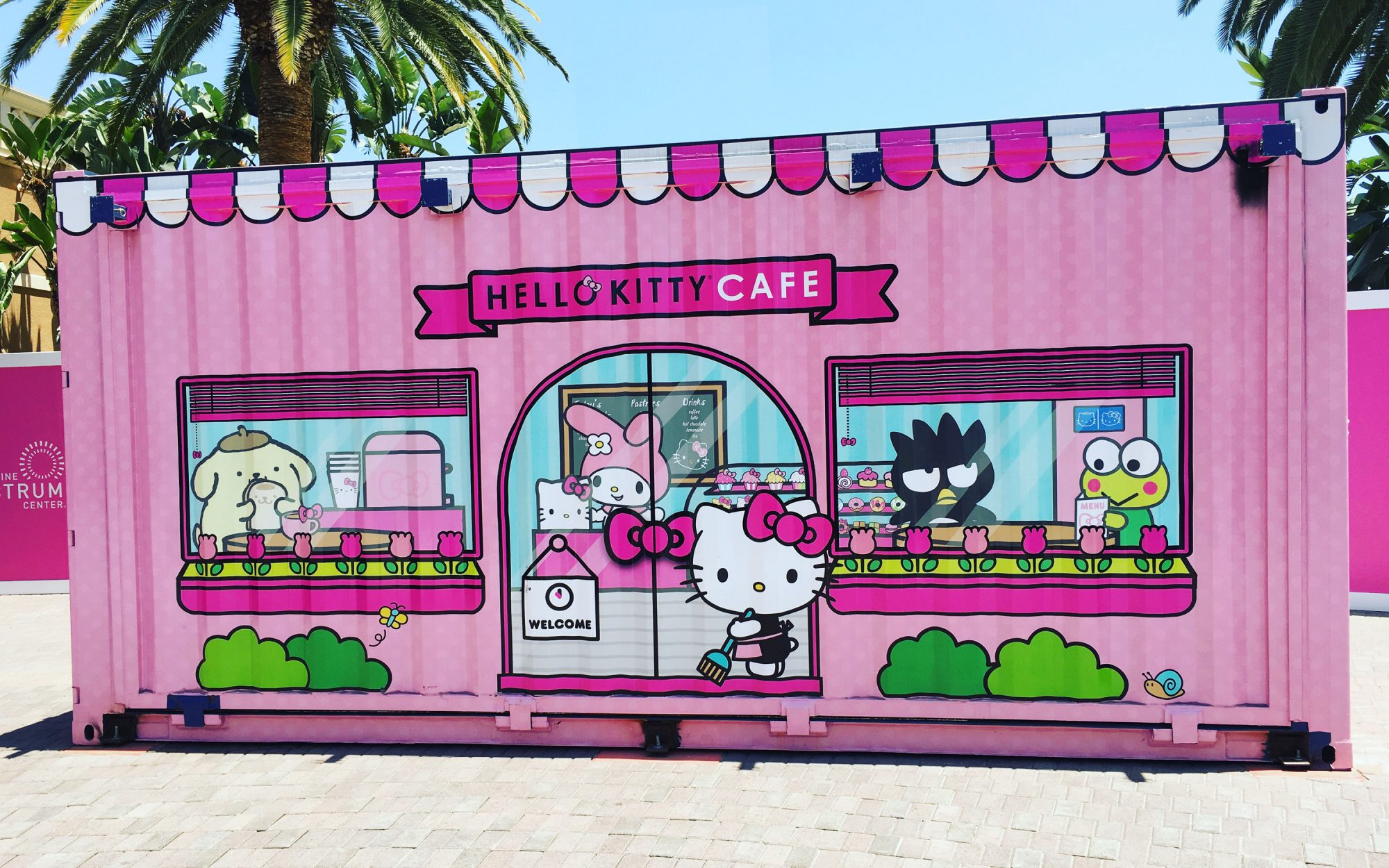 There's a New Hello Kitty Cafe in California