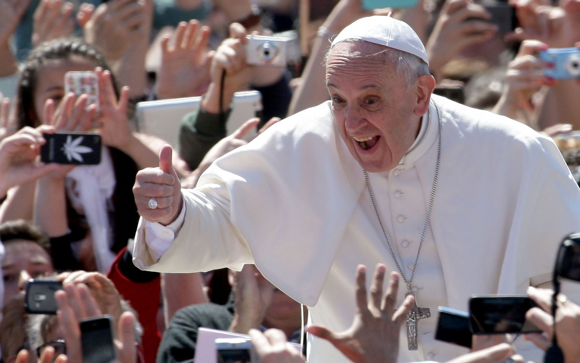 Meet Pope Francis and play ping pong for $25,000
