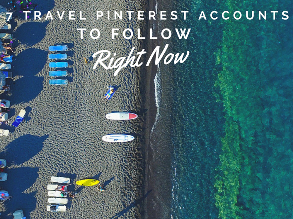 Travel-inspired Pinterest accounts to follow right now