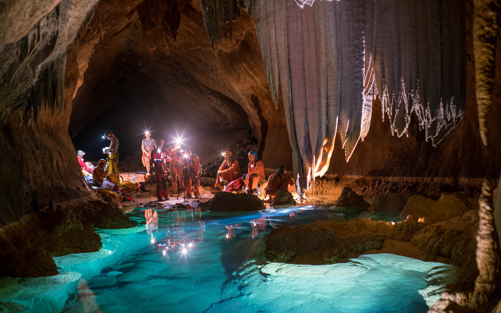 Inside the Italian caves where astronauts prepare for their next mission