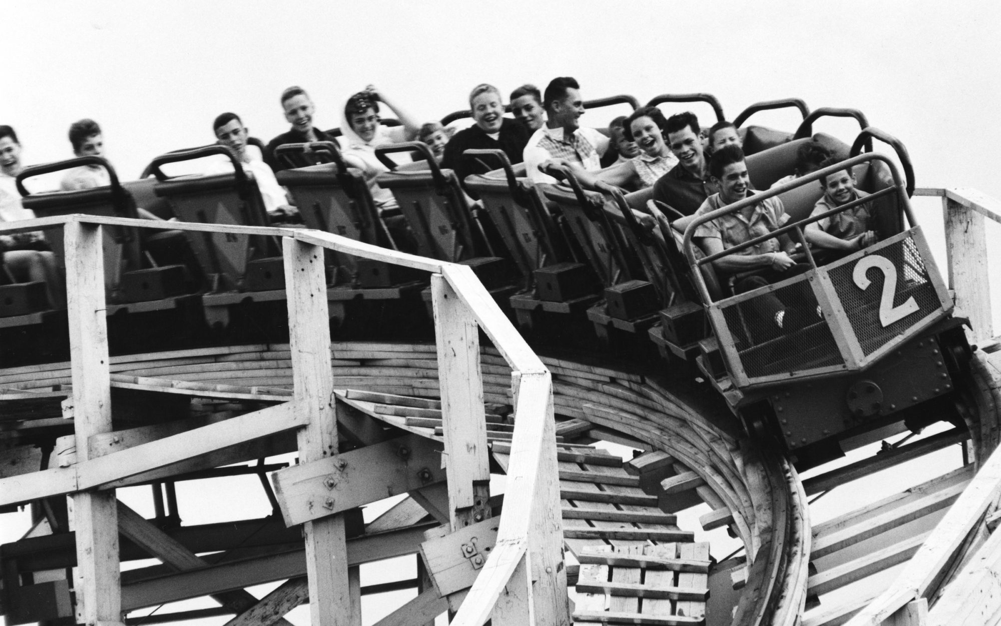 Vintage Photos of Roller Coasters