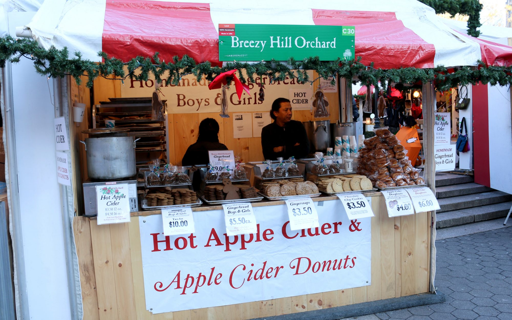 NYC Union Square Holiday Market
