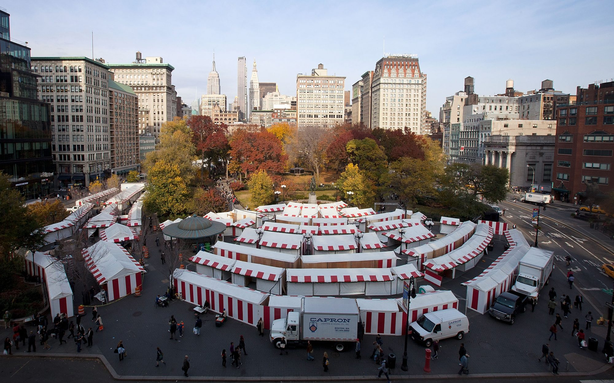 What to See at the Union Square Christmas Market