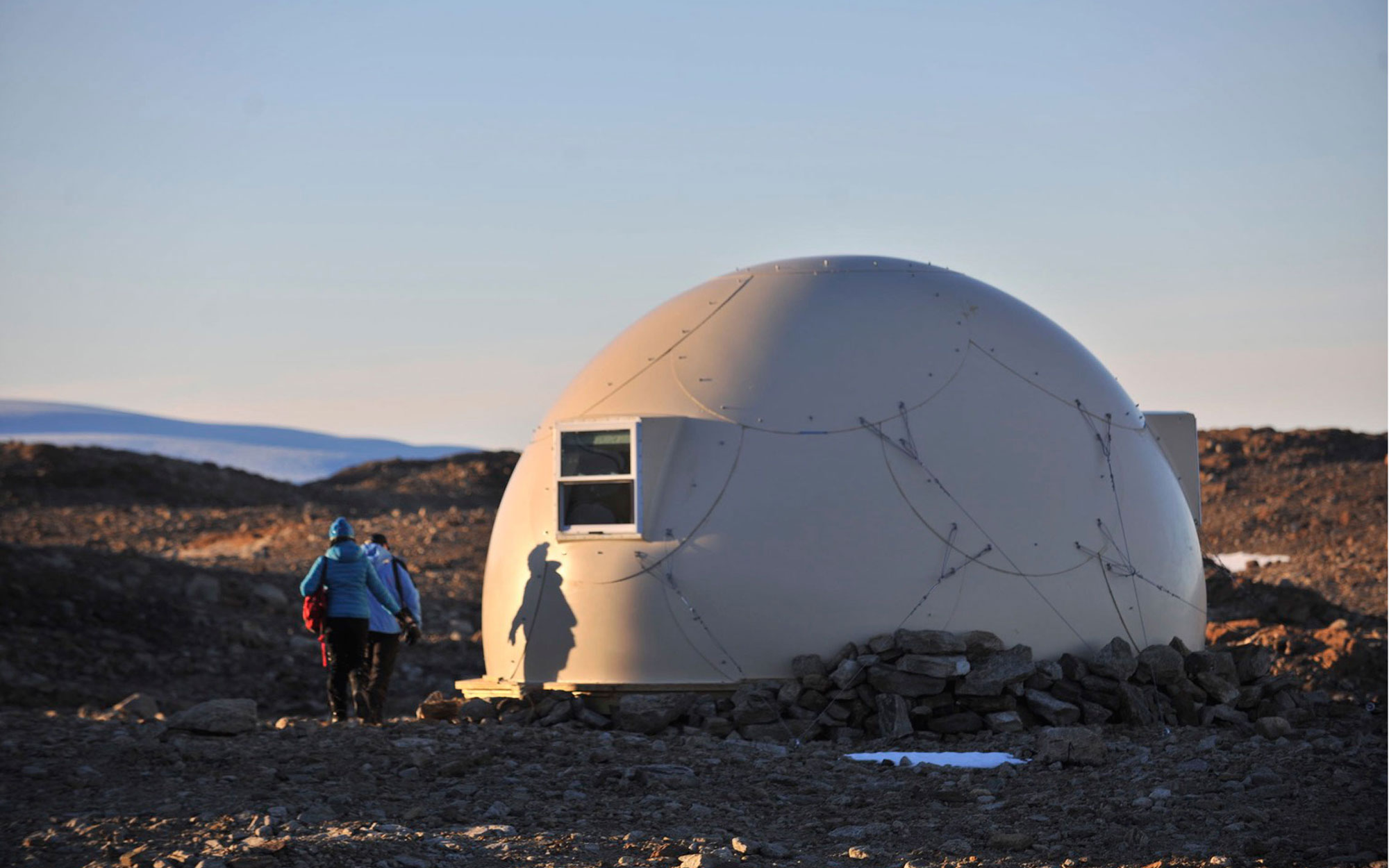 Most remote hotel in Antarctica