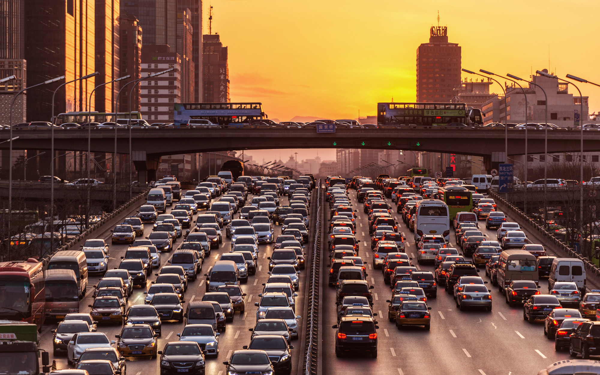 Research Shows How Bad Traffic Jams Can Be For Your Health