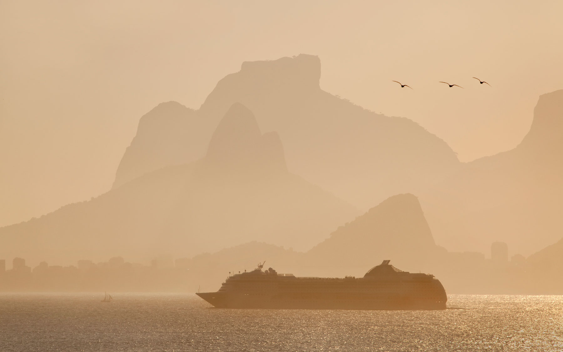 Cruise ships double as a hotel for the Rio Olympics