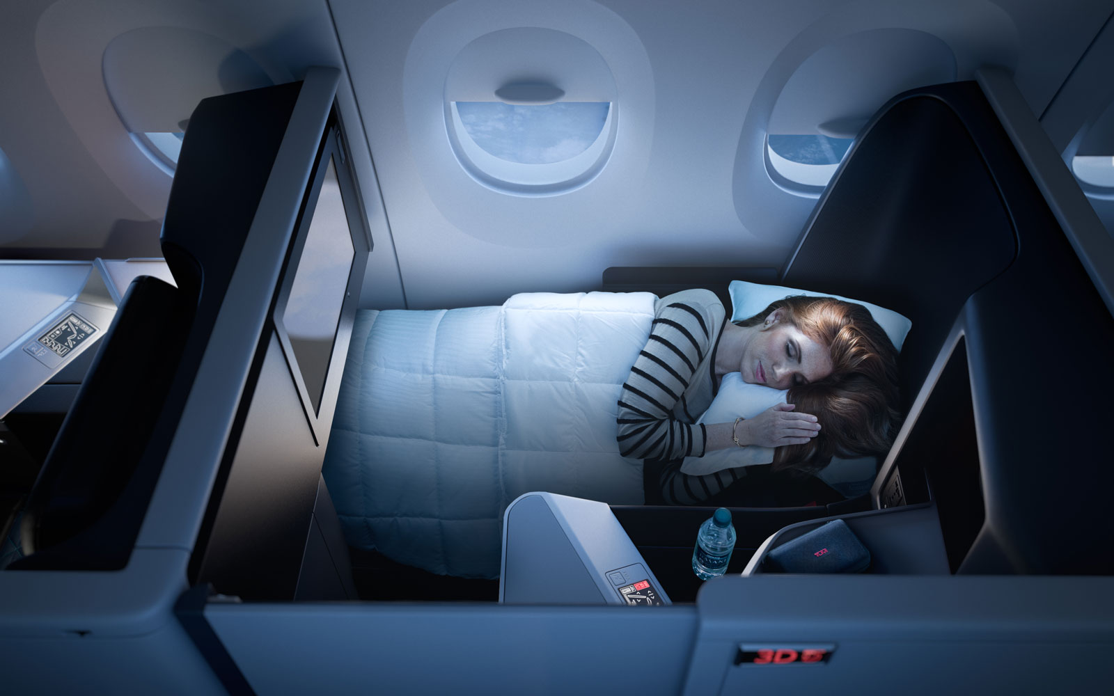 Delta Wants to Mimic a Private Jet With Its All-suite Business Class