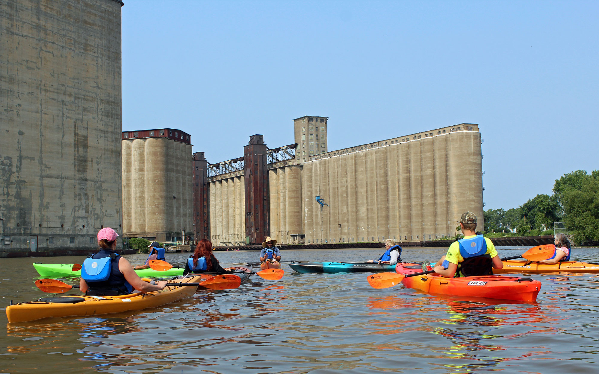 Kayaking Buffalo