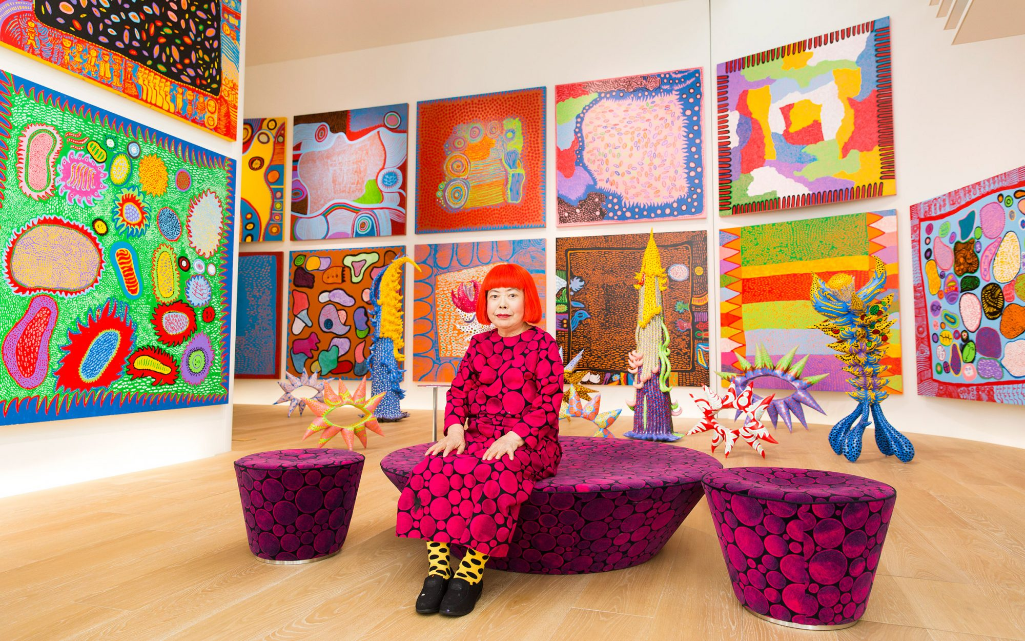 "Kusama's ""Infinity Mirrors"" Retrospective to Tour the U.S."