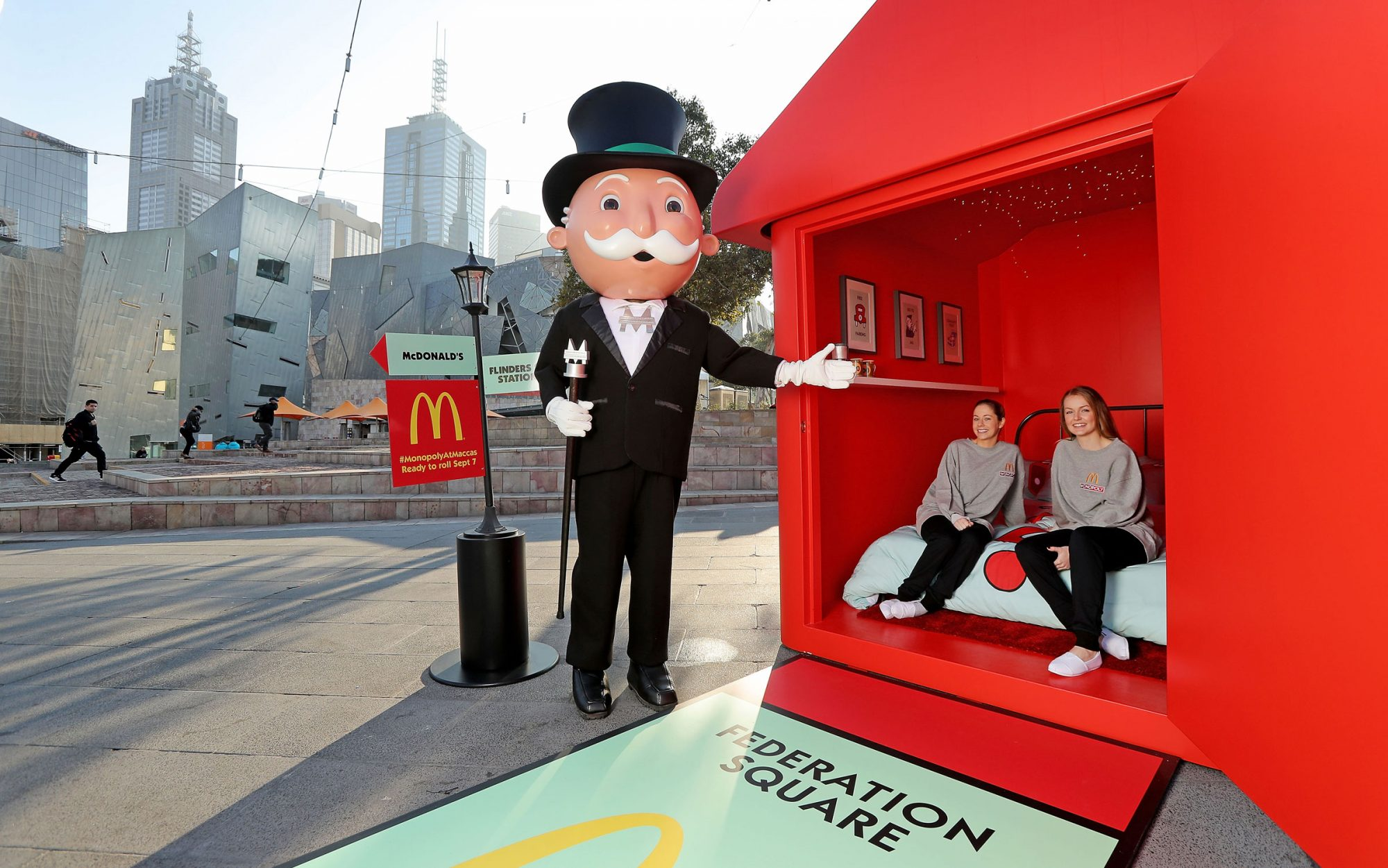 McDonald's Opens World's First Monopoly Hotel