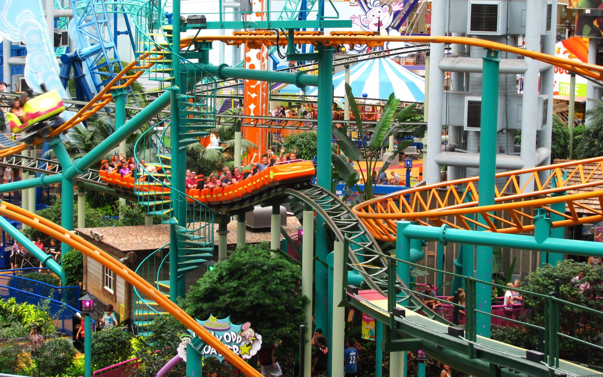 Explore Your Favorite TV Characters at America's Biggest Indoor Theme Park