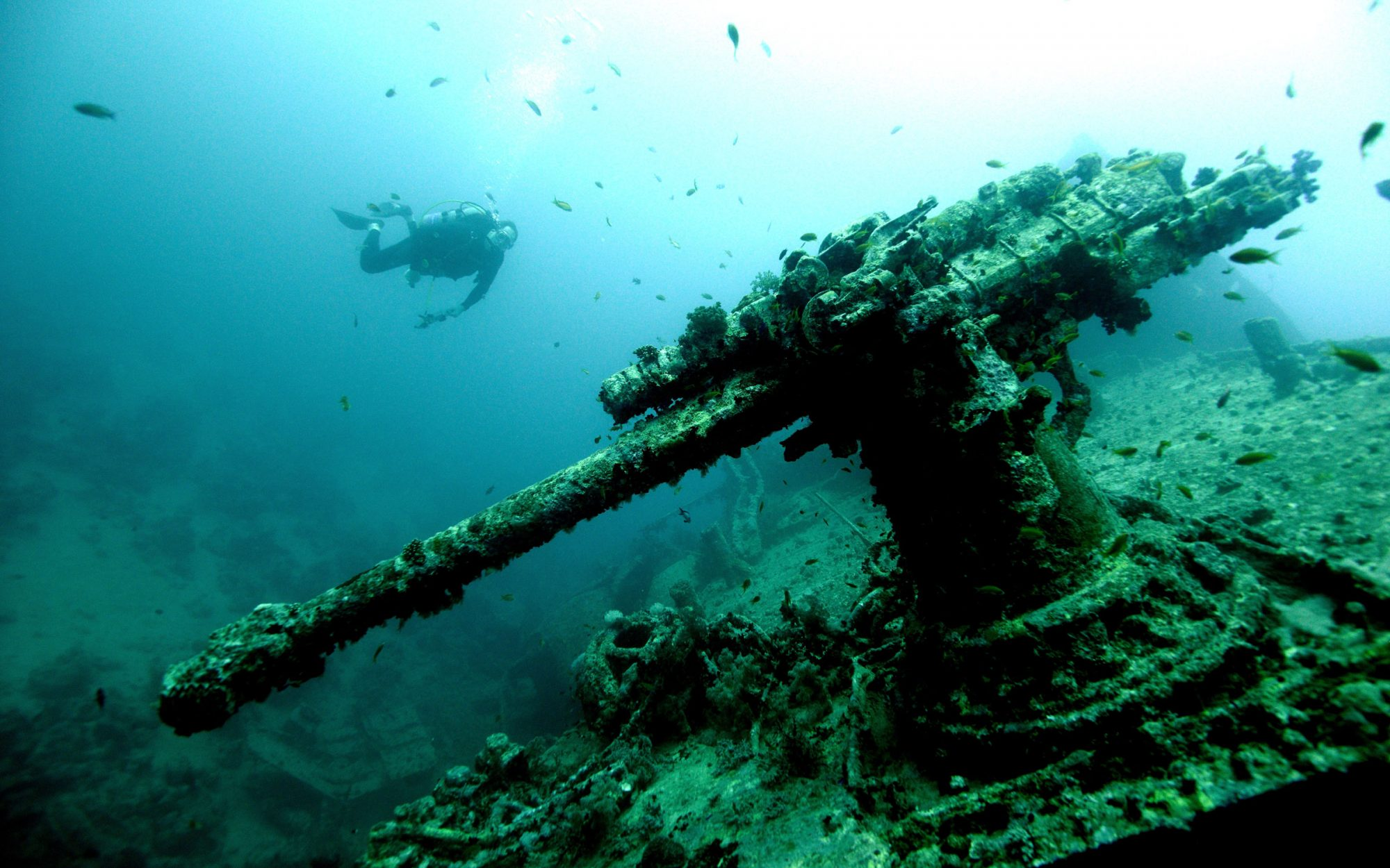 10 Incredibly Preserved Shipwrecks Around the World