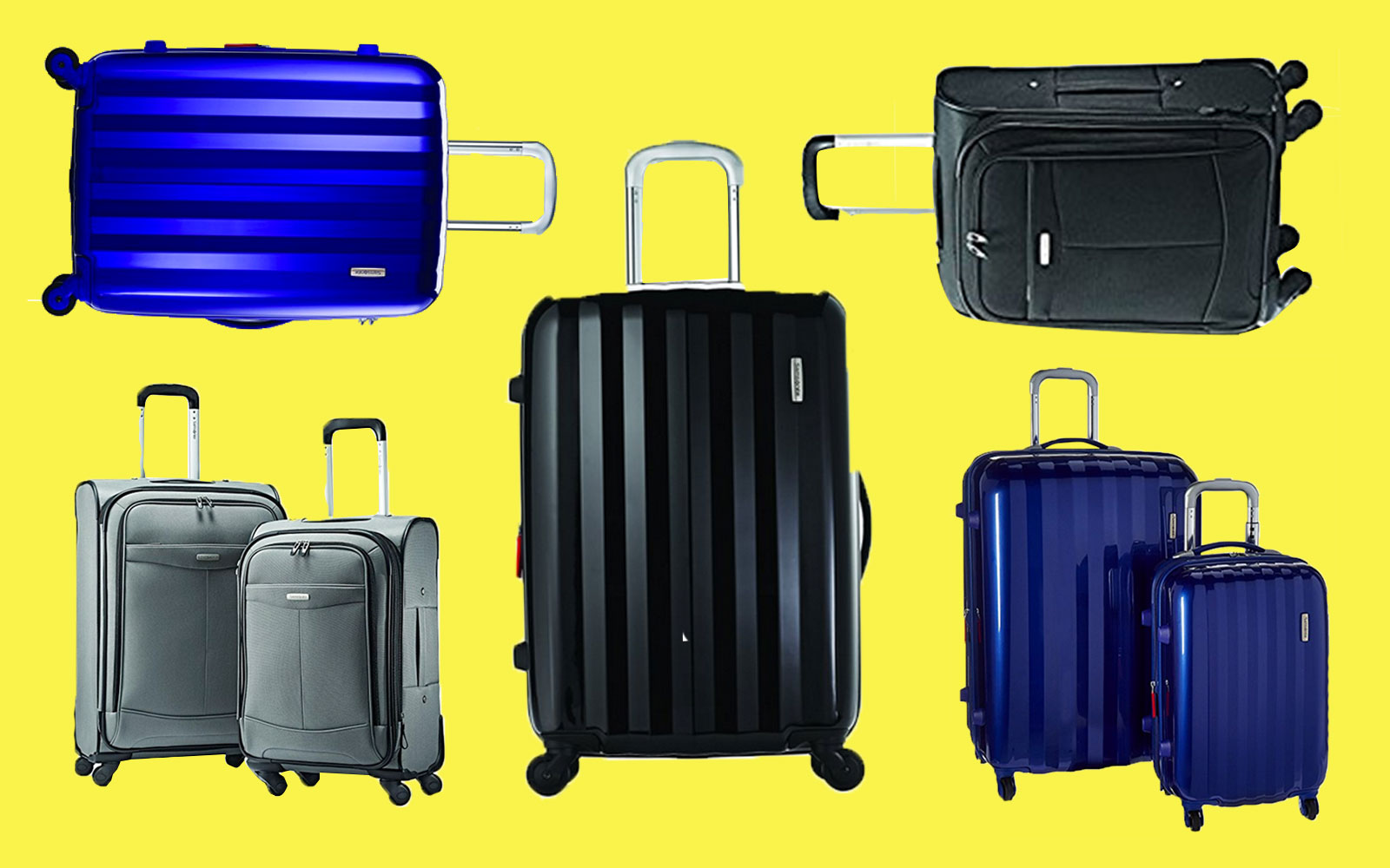 Amazon Deal of the Day Samsonite Luggage Spinner Set