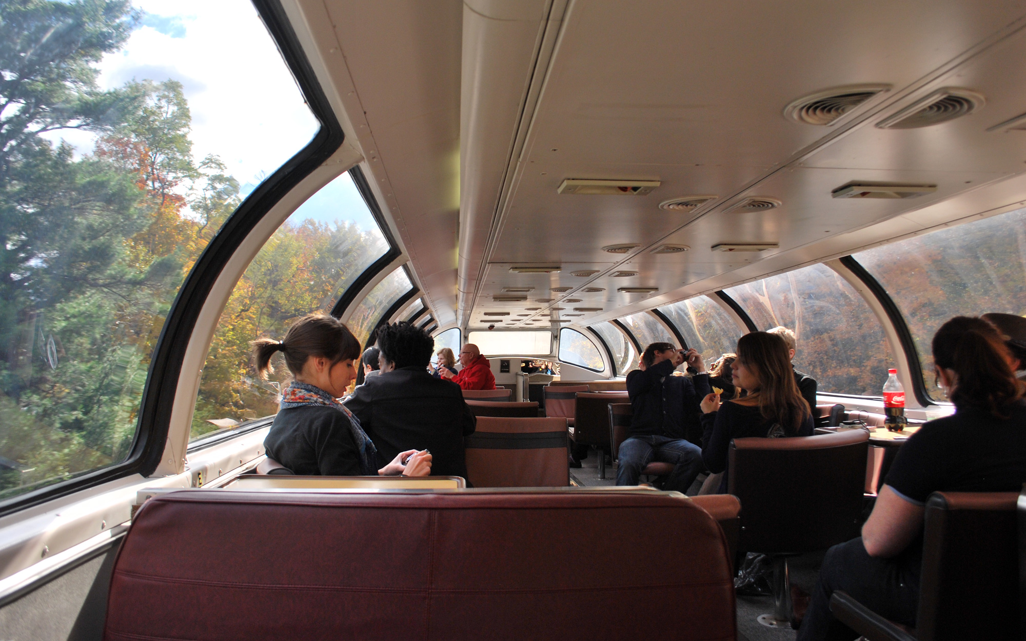 Amtrak Great Dome Car Returns