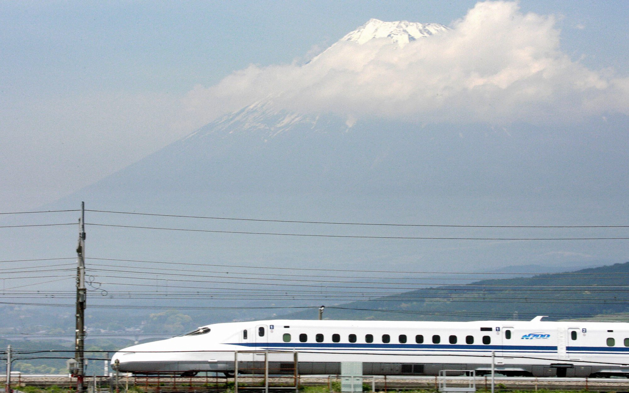Japanese Bullet Train Made Emergency Stop Because of Snake Onboard