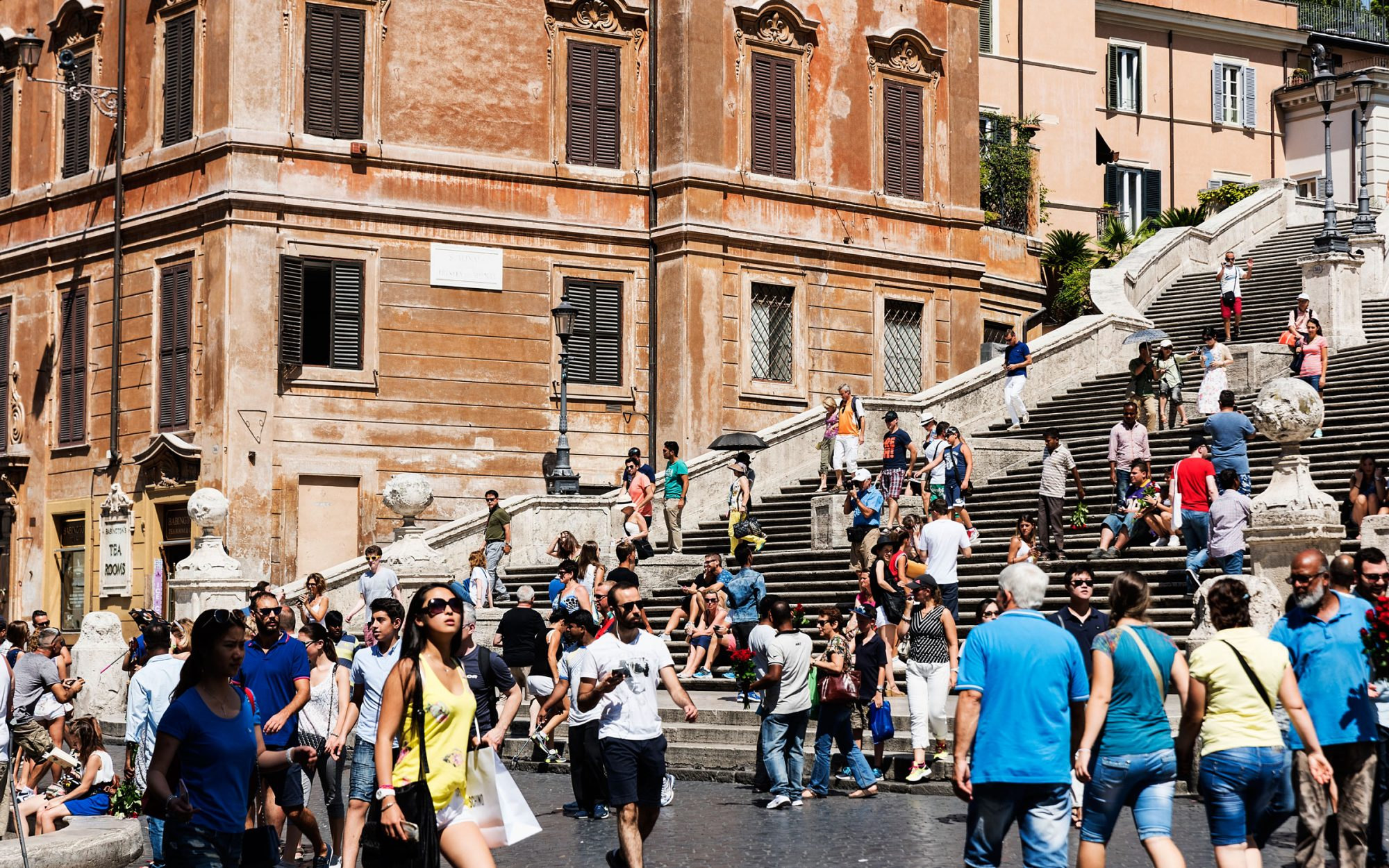Spanish Steps Protection in Rome