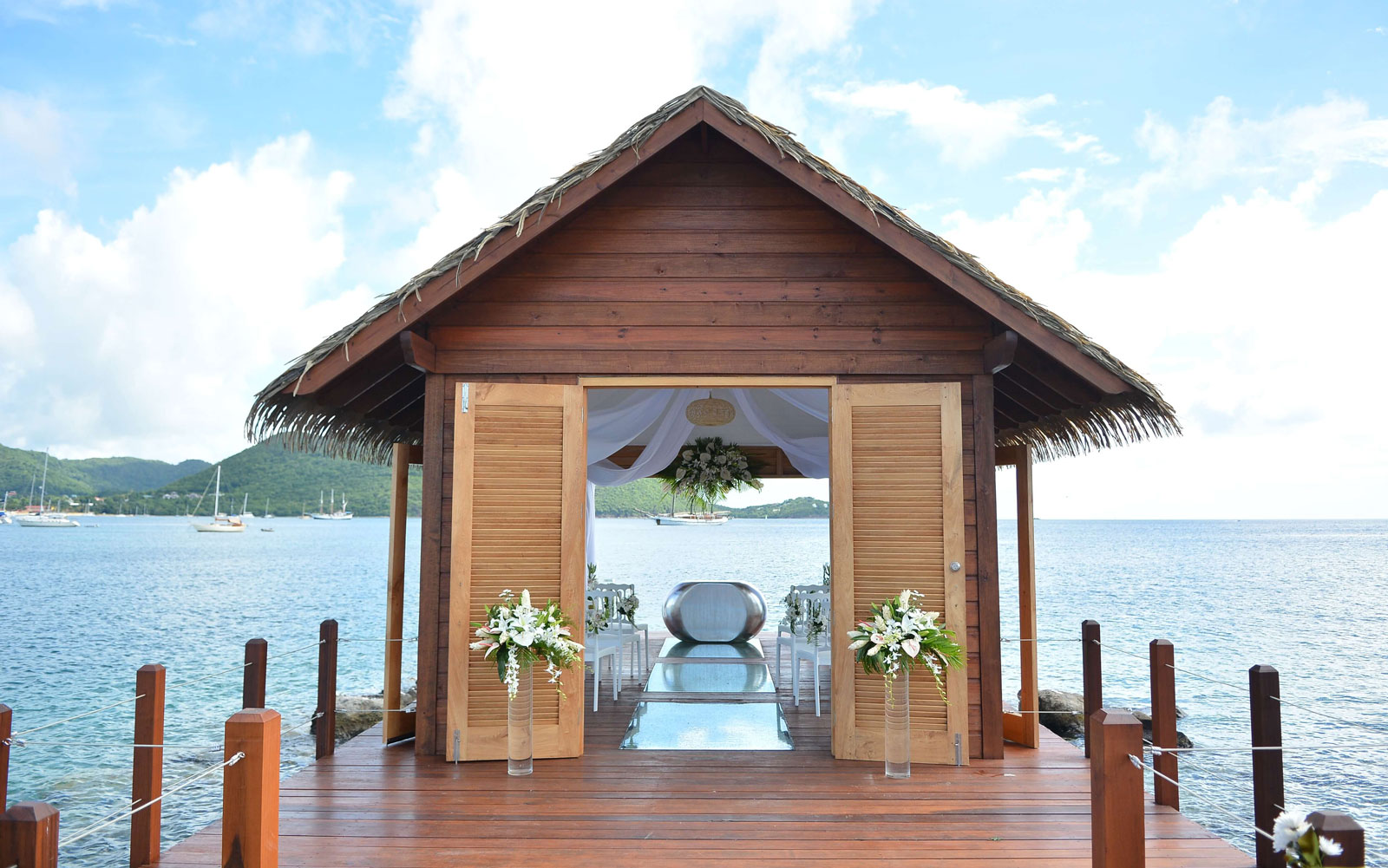 Get Married in an Overwater Chapel in St. Lucia