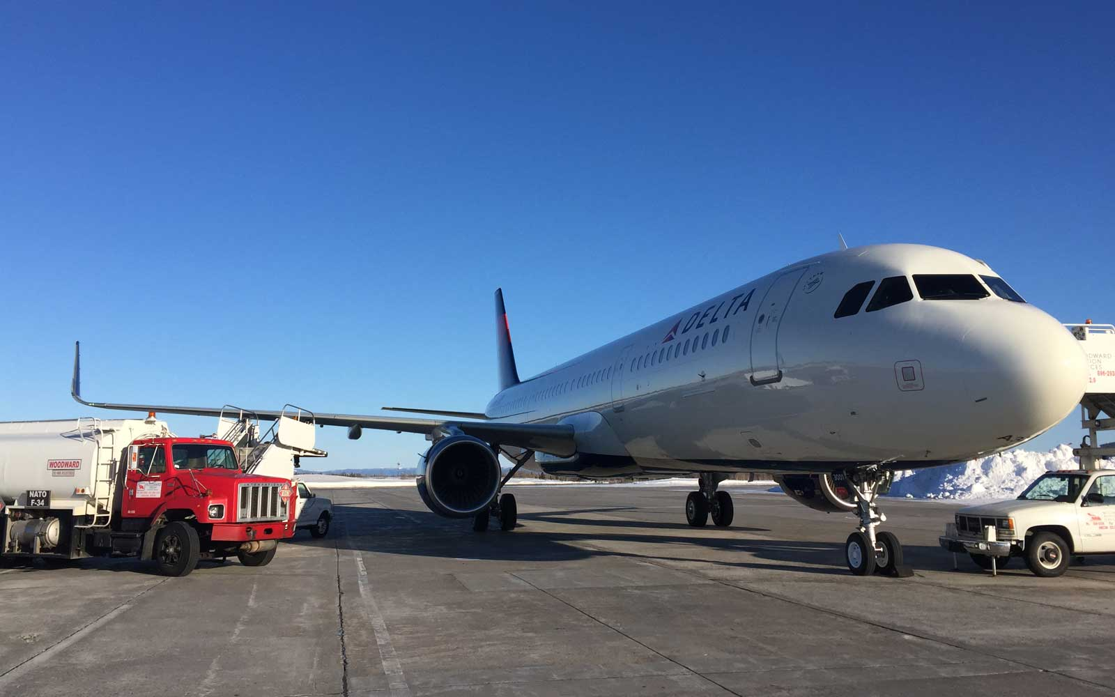 Take a Look at Delta's First Airbus A321 Made Completely in the U.S.