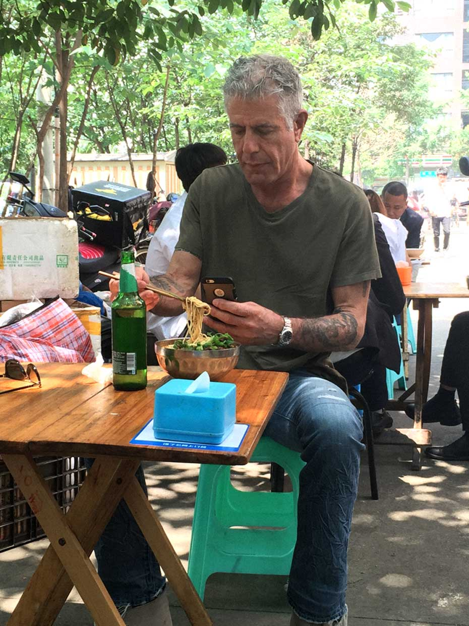Anthony Bourdain in Sichuan